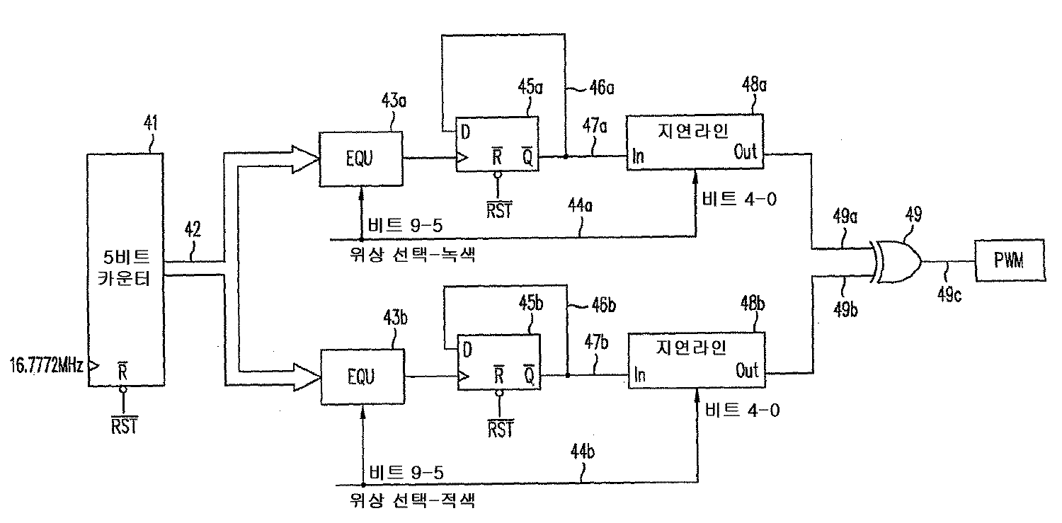 KR40B40   Digital signal to pulse converter, circuit and ...