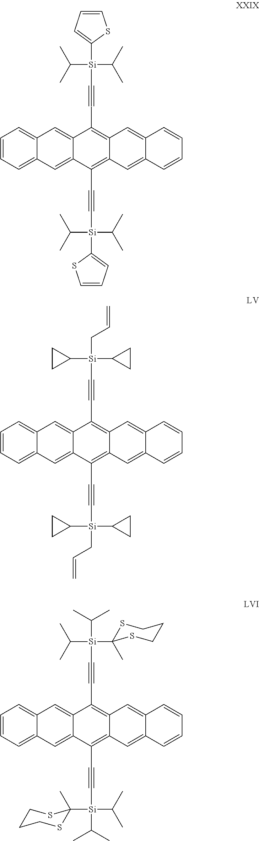 Us8956555b2 Silylethynyl Pentacene Compounds And Compositions 555 Timer Sigmatone Figure Us08956555 20150217 C00007