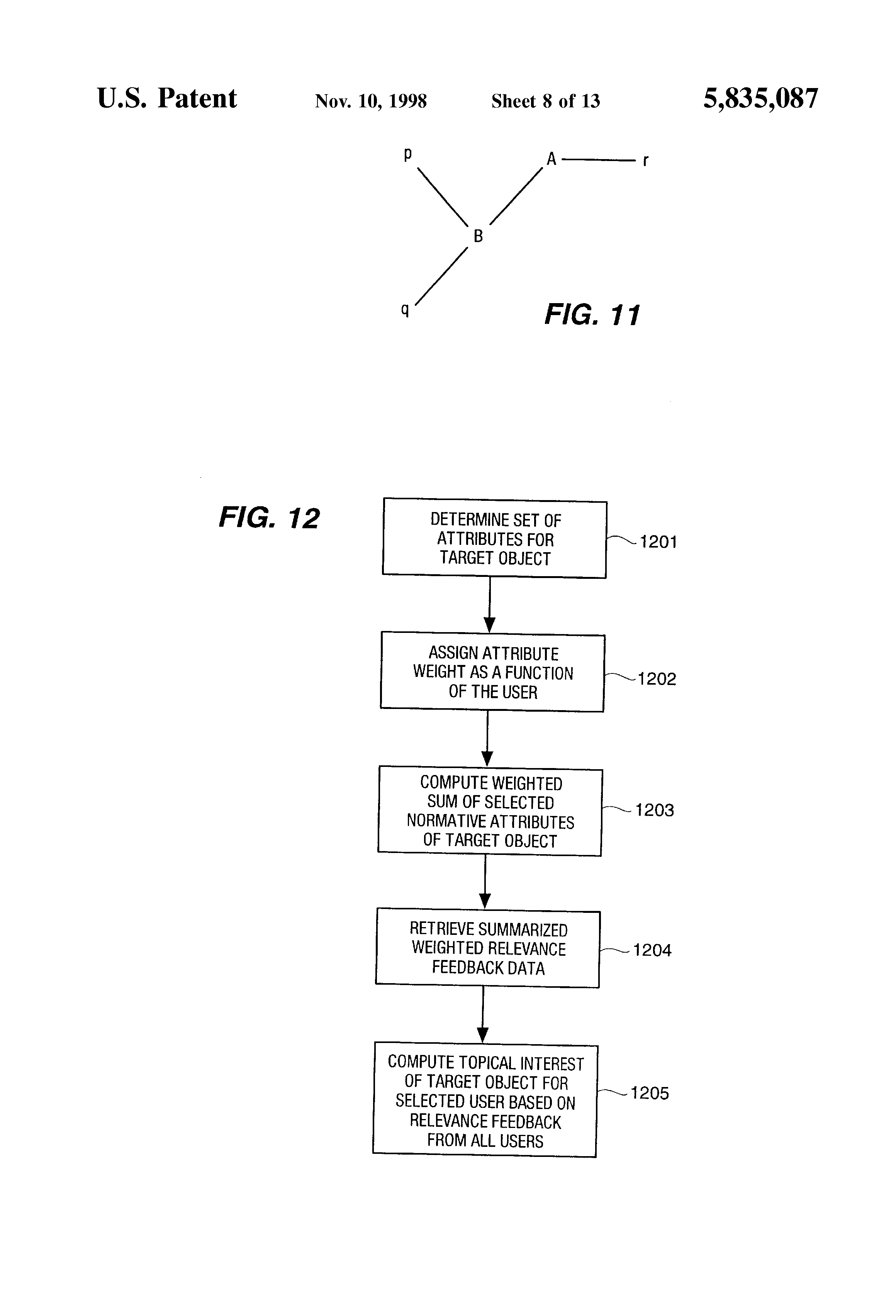 US5835087A - System for generation of object profiles for a