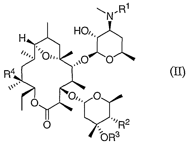 wo2005018577a2 11 deoxy 6 9 ether erythromycin pounds Engineered Machined Products figure imgf000010 0003