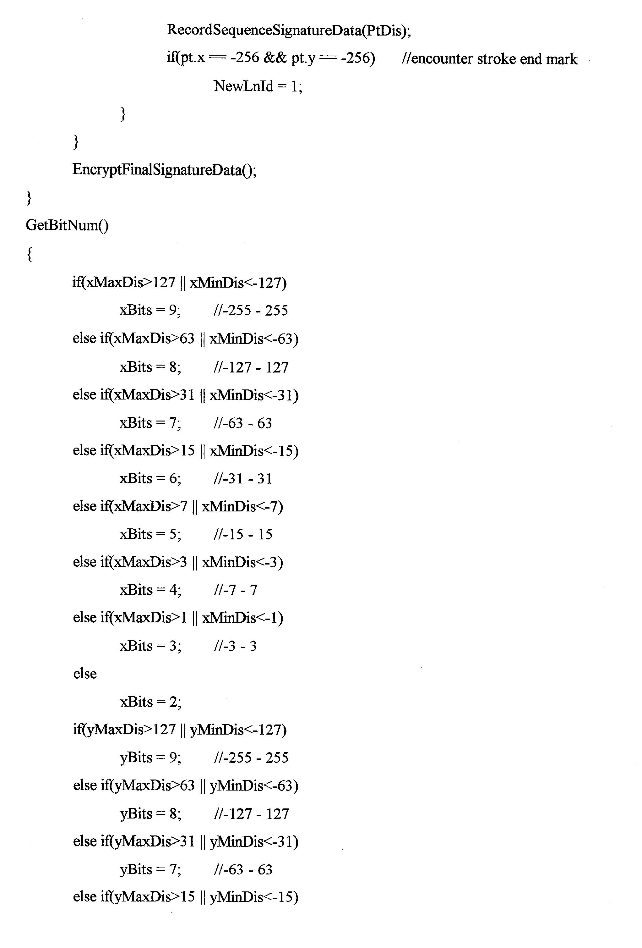 Figure US20030138135A1-20030724-P00004