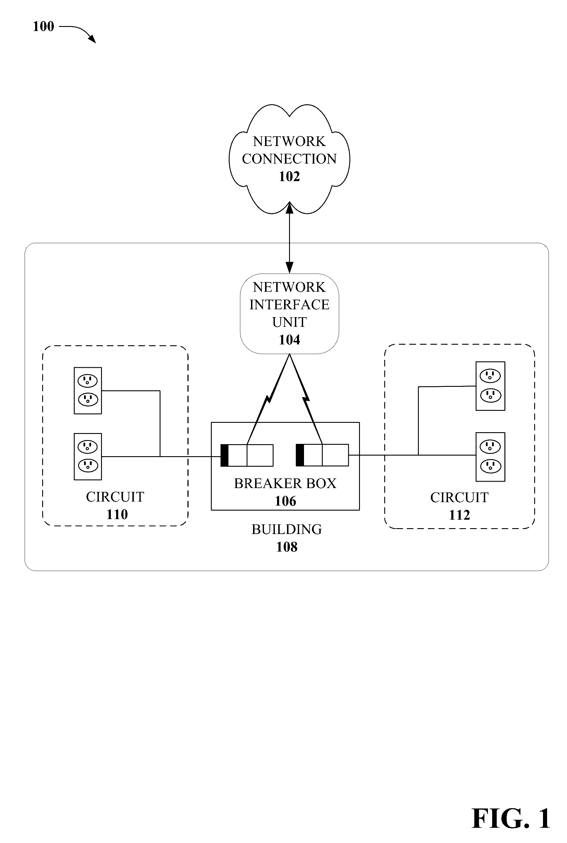 Us9685992b2 Circuit Panel Network And Methods Thereof Google Patents Randall 102 Central Heating Timer Wiring Diagram