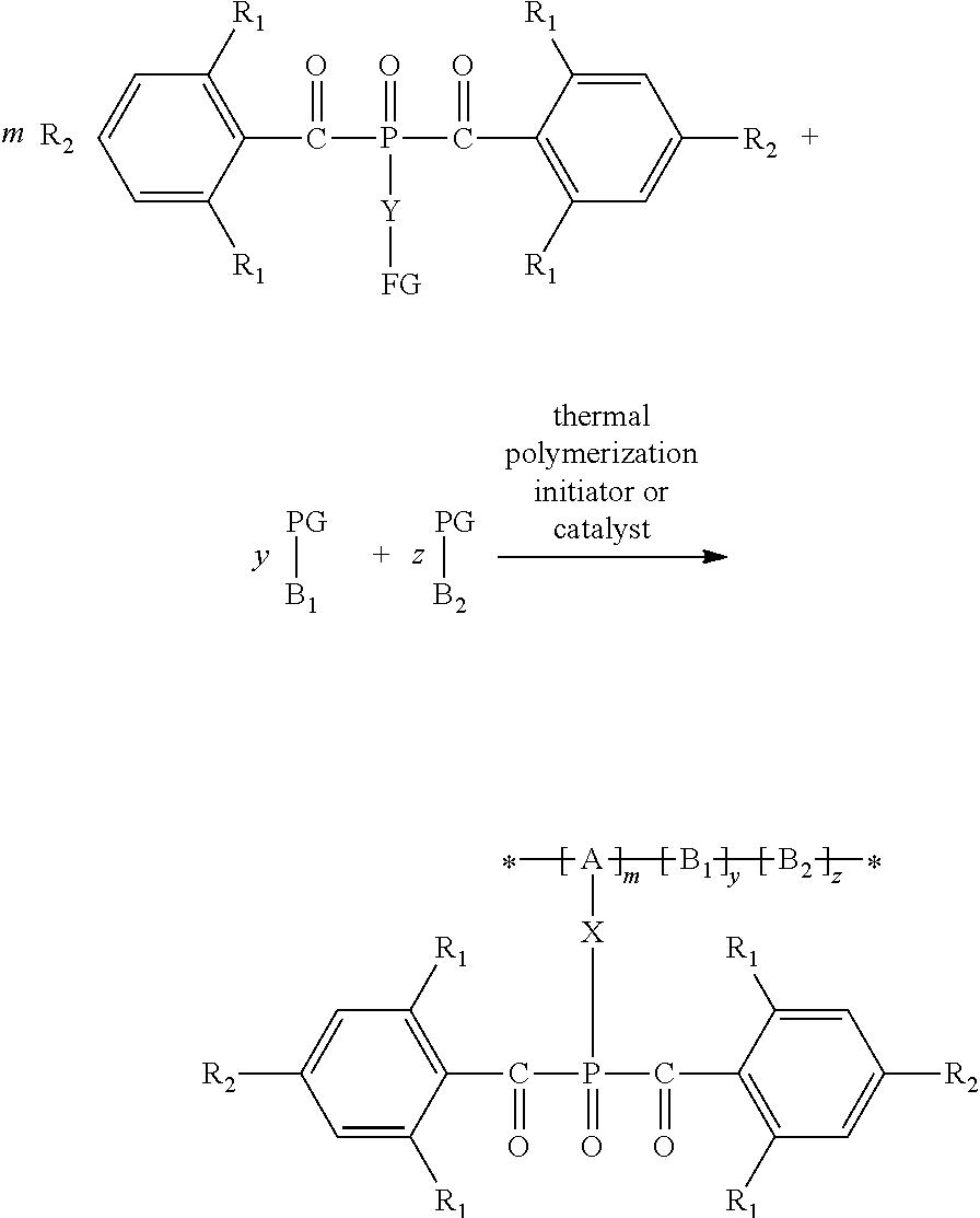 US20150025169A1 - Polymer-bound bisacylphosphine oxides - Google Patents
