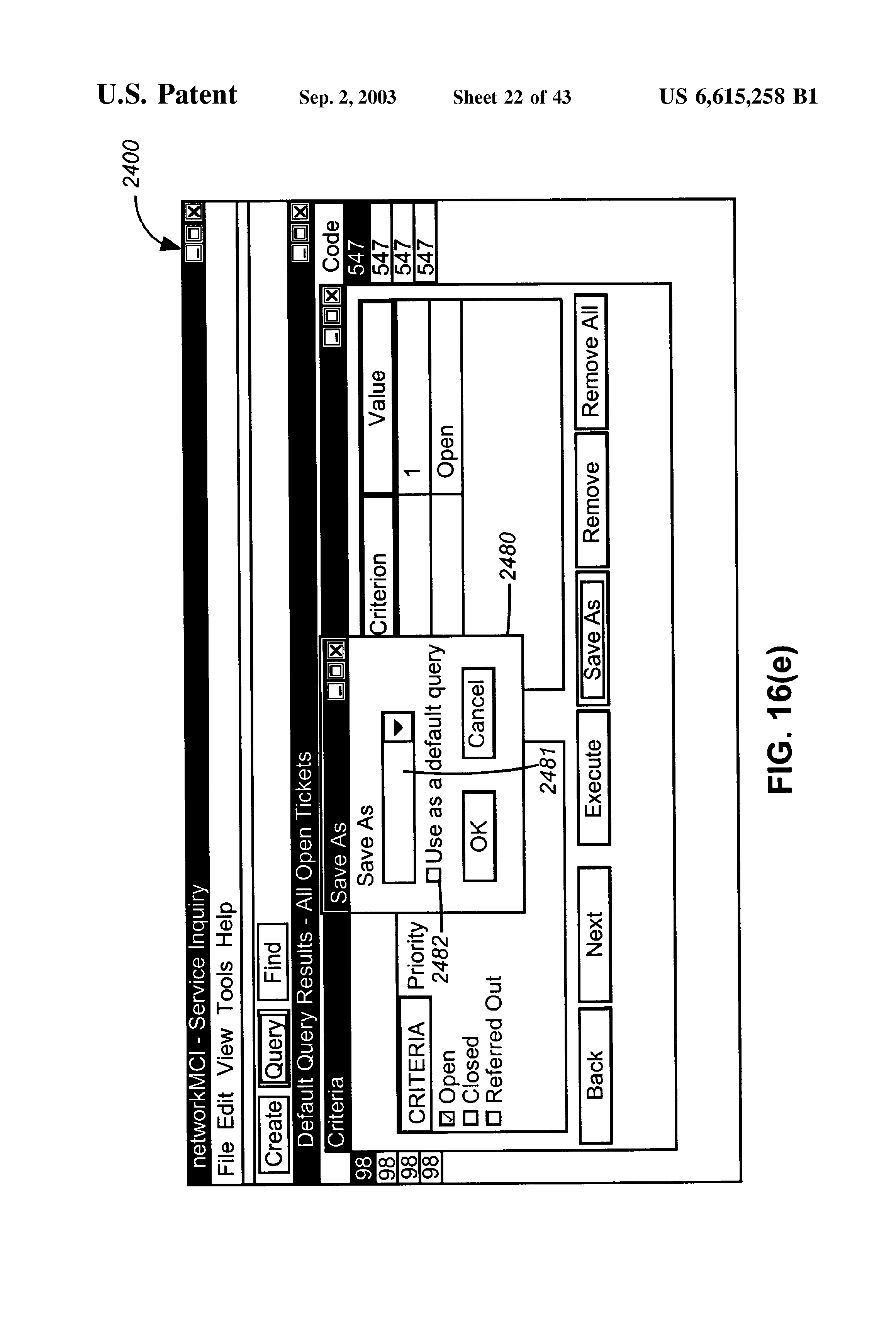 US6615258B1 - Integrated customer interface for web based data