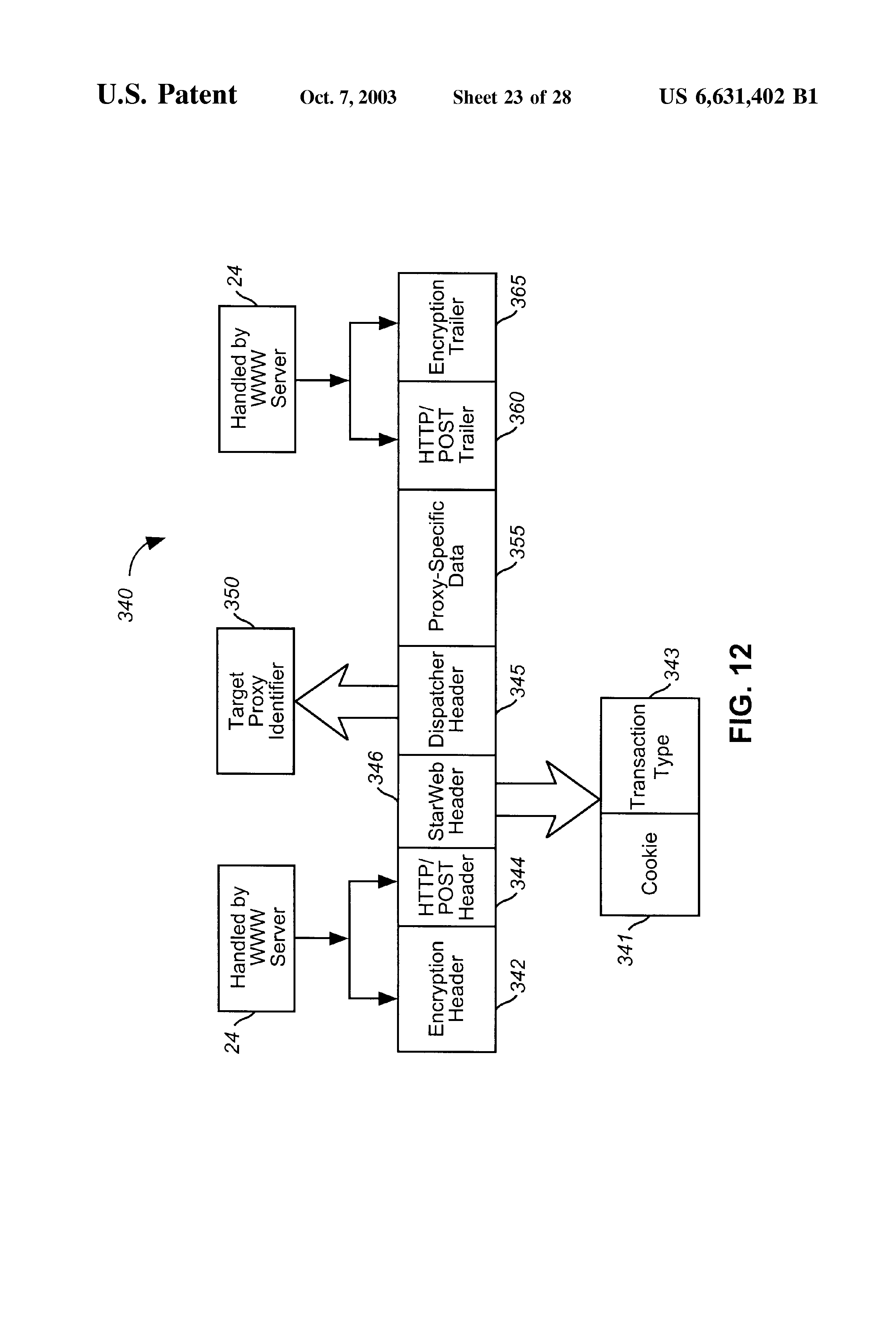 US6631402B1 - Integrated proxy interface for web based