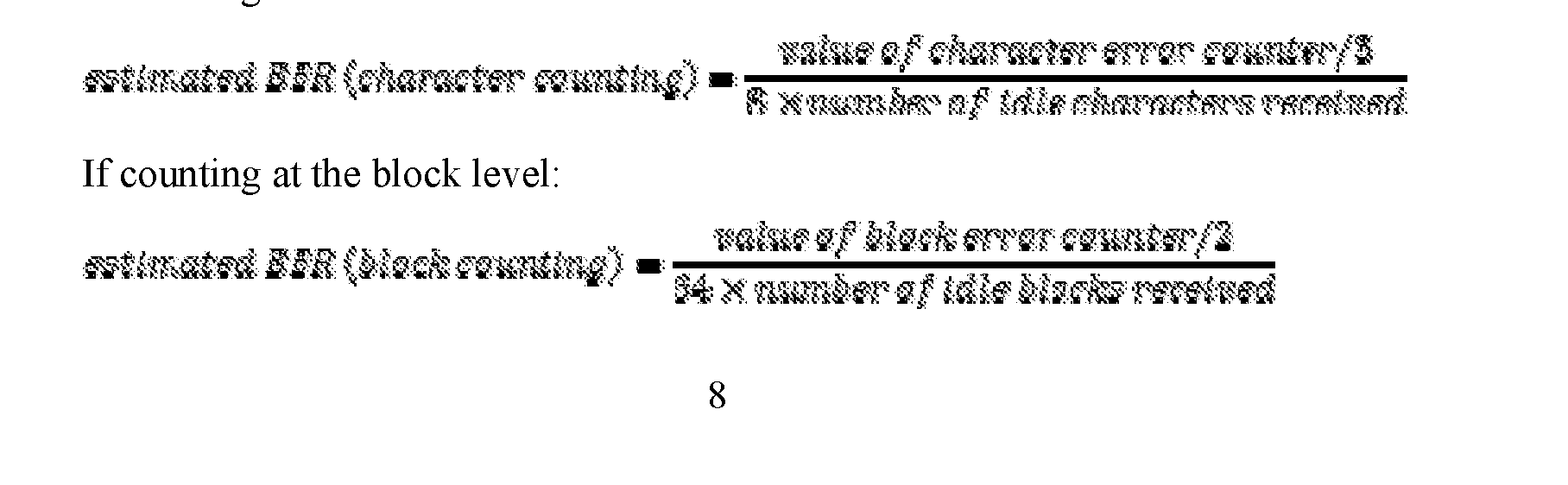 WO2016144953A1 - Monitoring errors during idle time in ethernet pcs