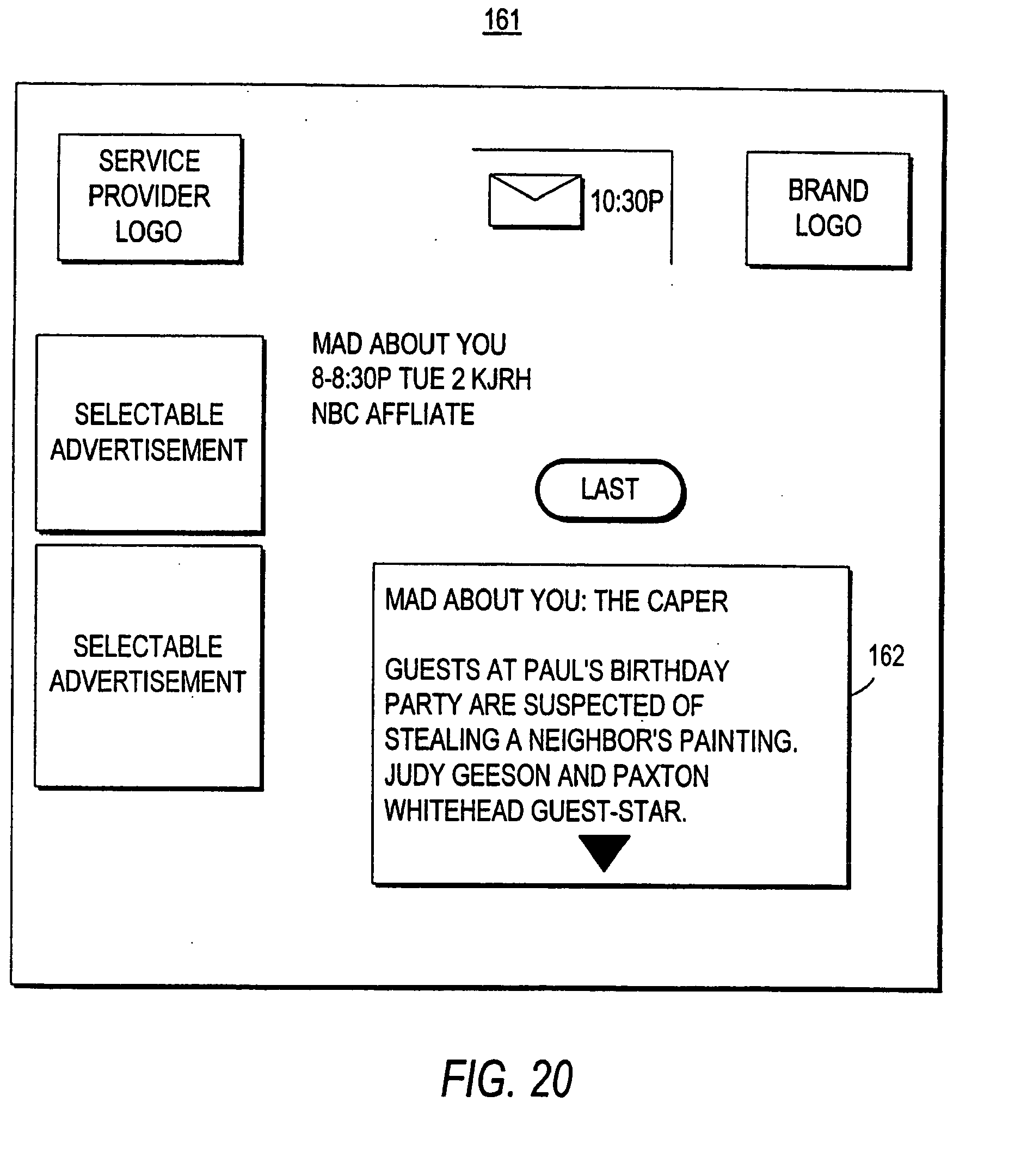 EP1662792A2 - Client-server based interactive television progrm