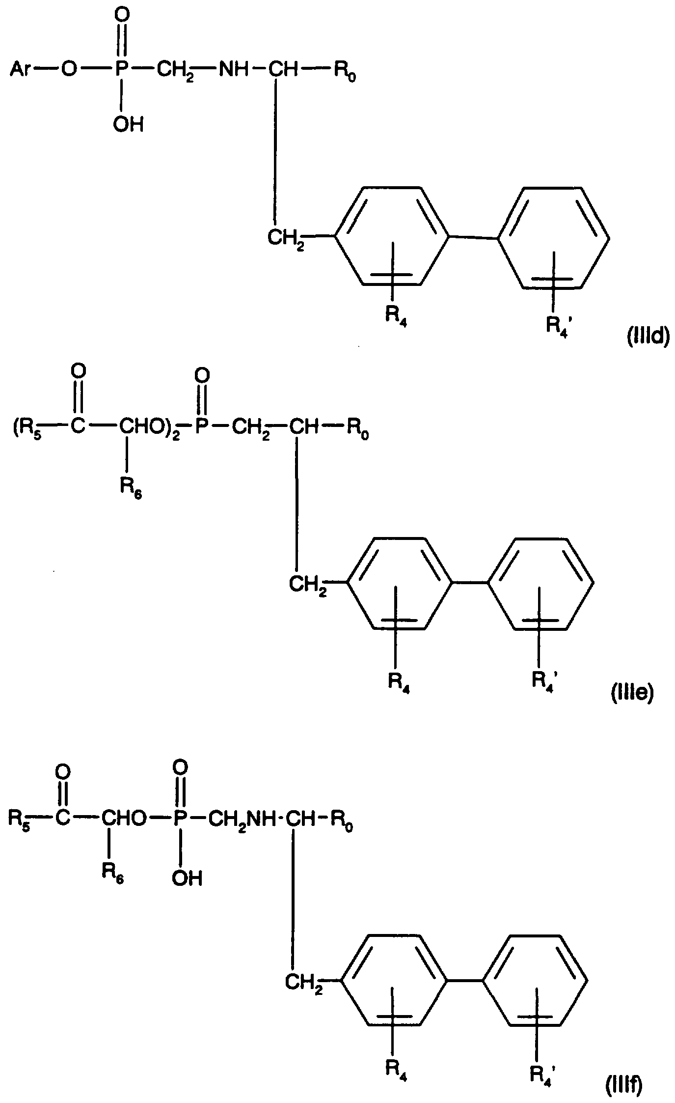 WO1996026729A1 - Phosphono subsuted tetrazole derivatives ... on