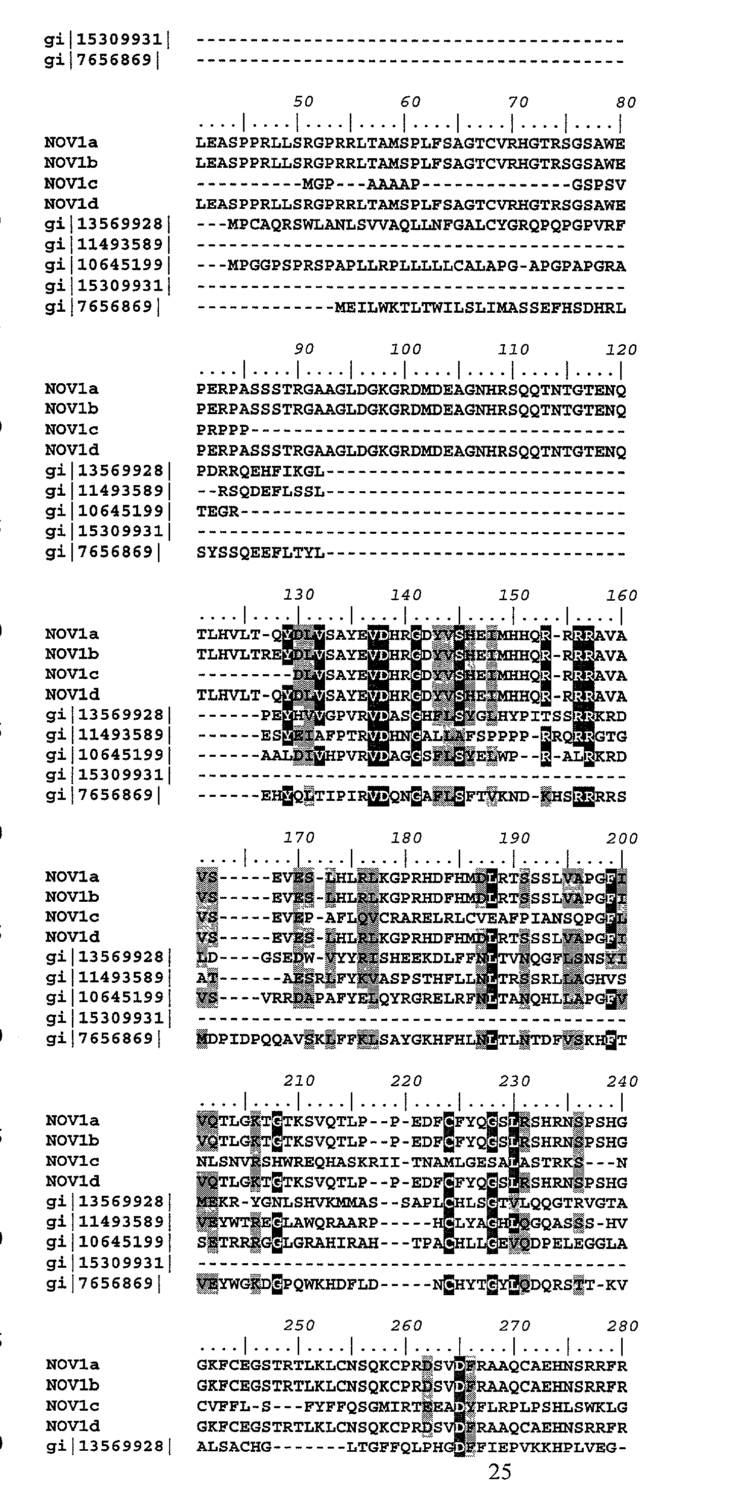 US20030212256A1 - Proteins and nucleic acids encoding same