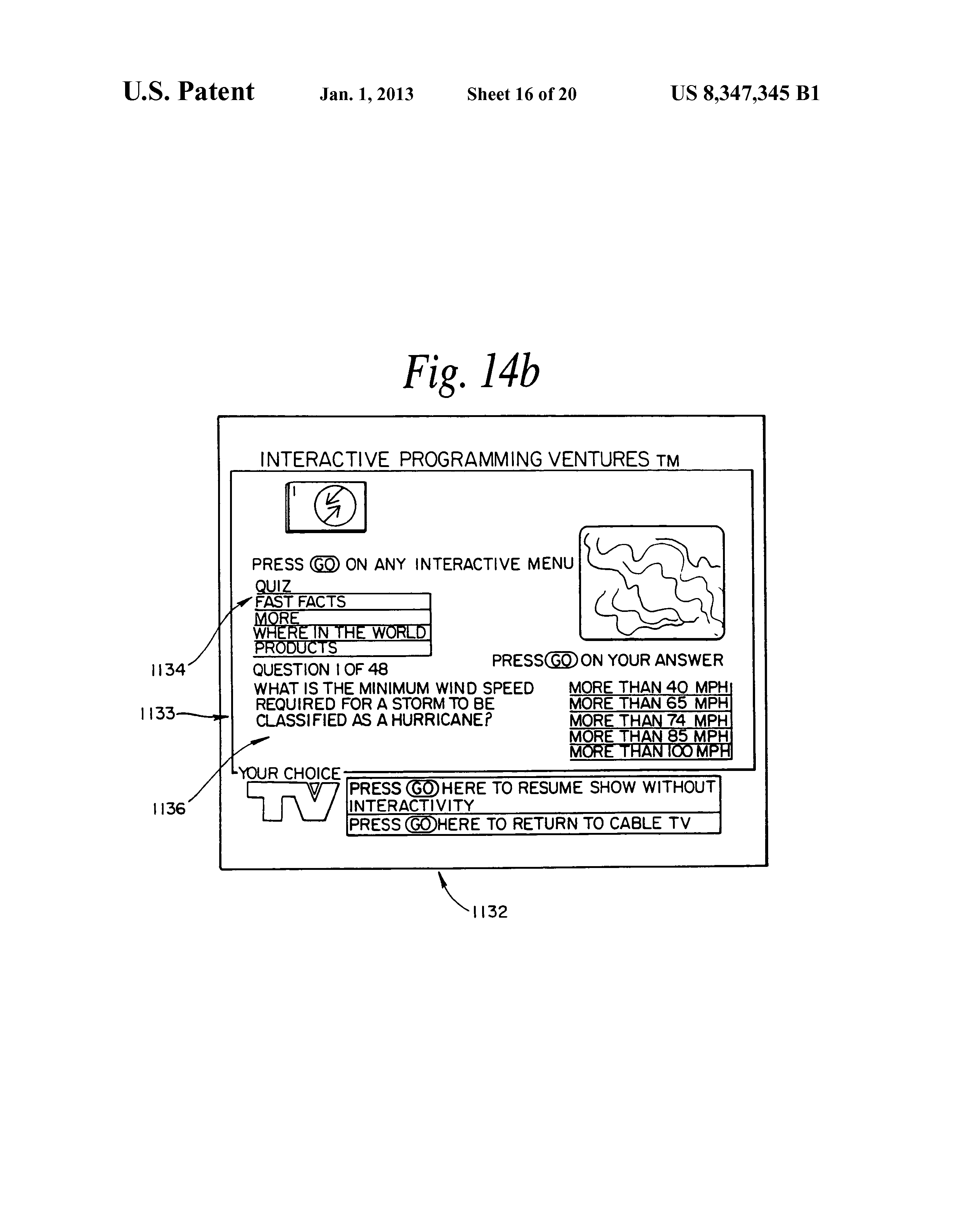 US8347345B1 - Television terminal modem - Google Patents