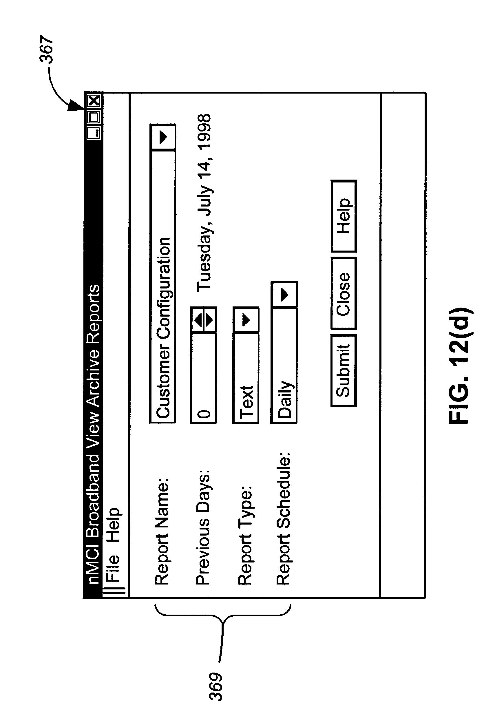 US B1 Integrated proxy interface for web based broadband