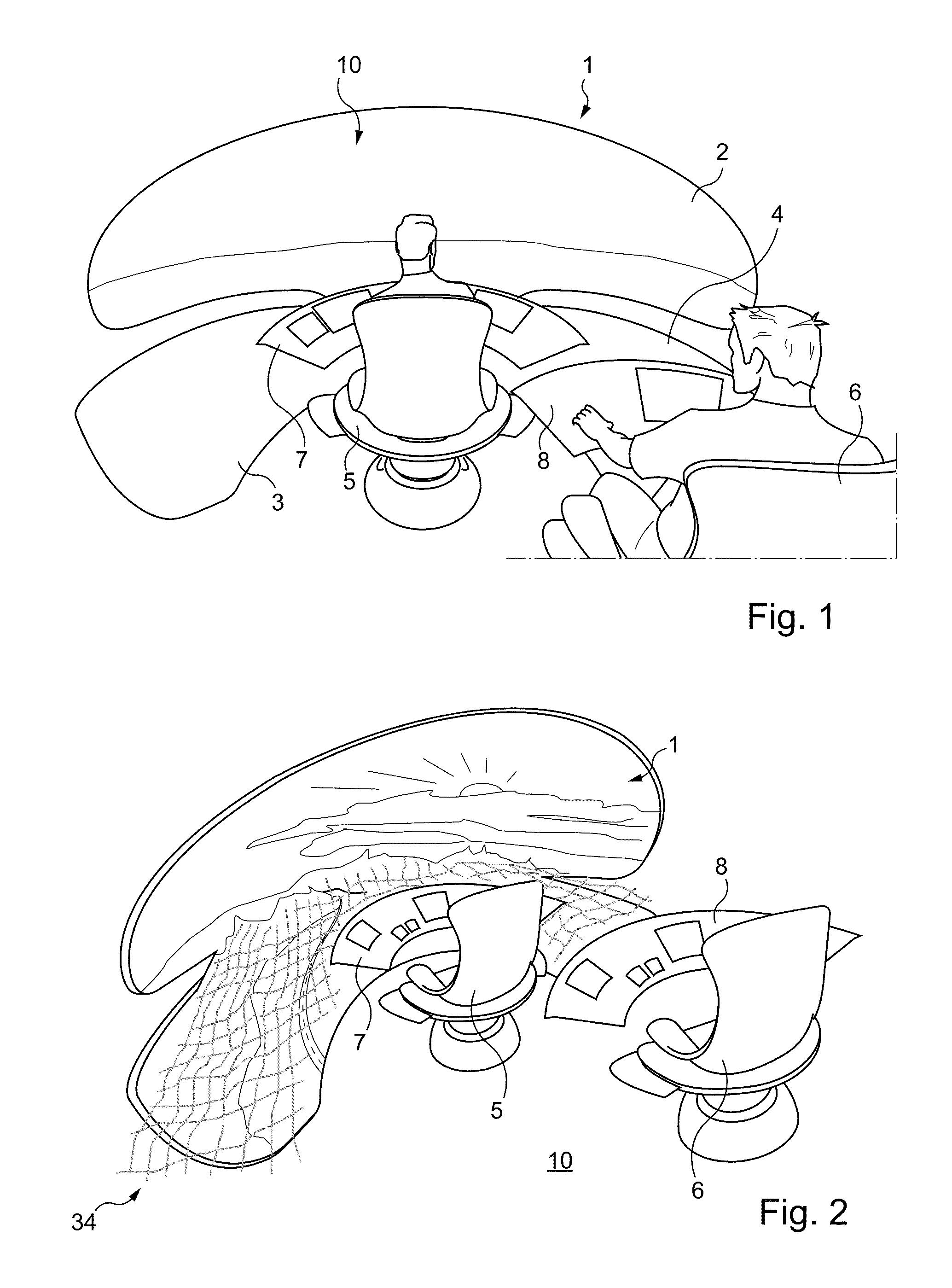 concept of windowless cockpits