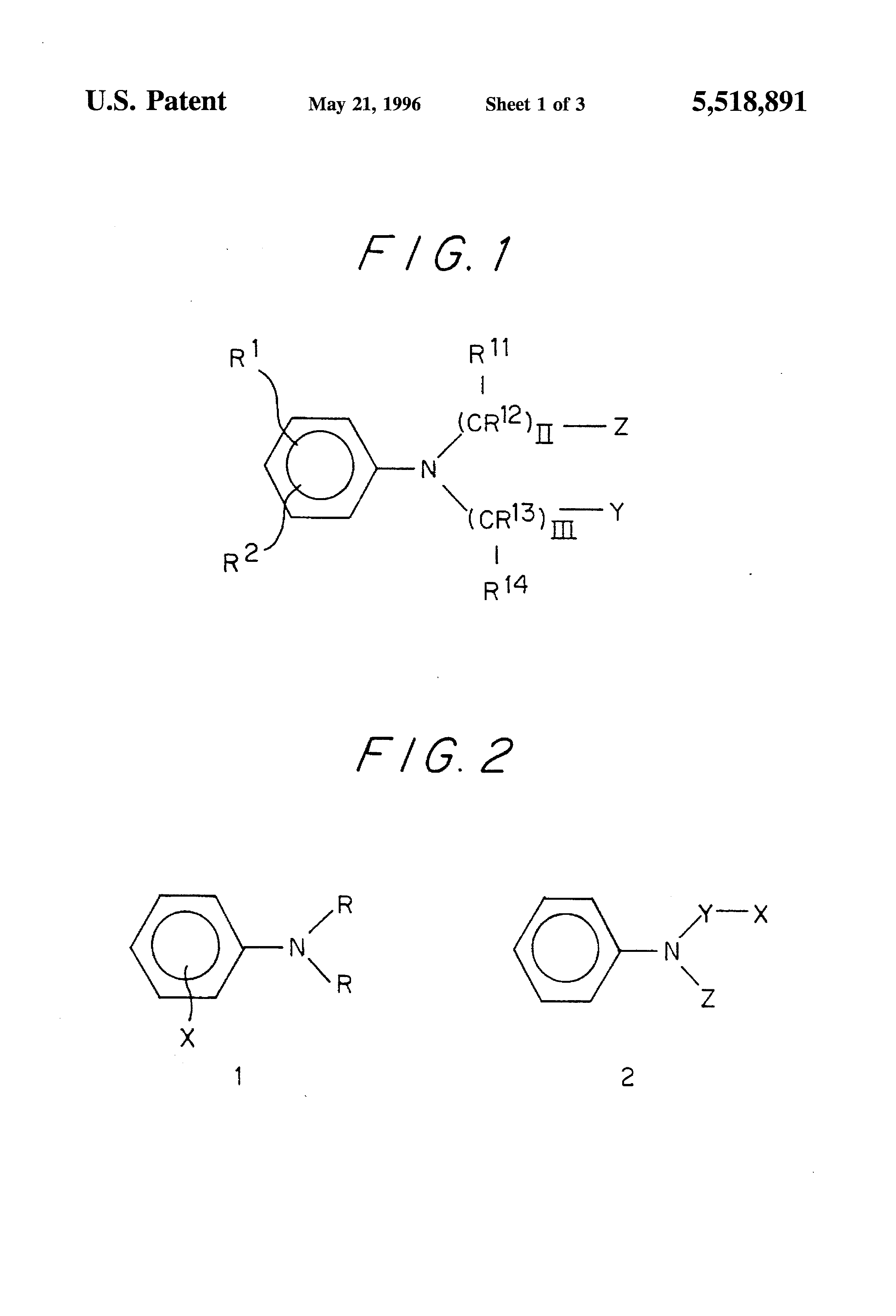 US5518891A - Dye forming composition and detection of hydrogen ...
