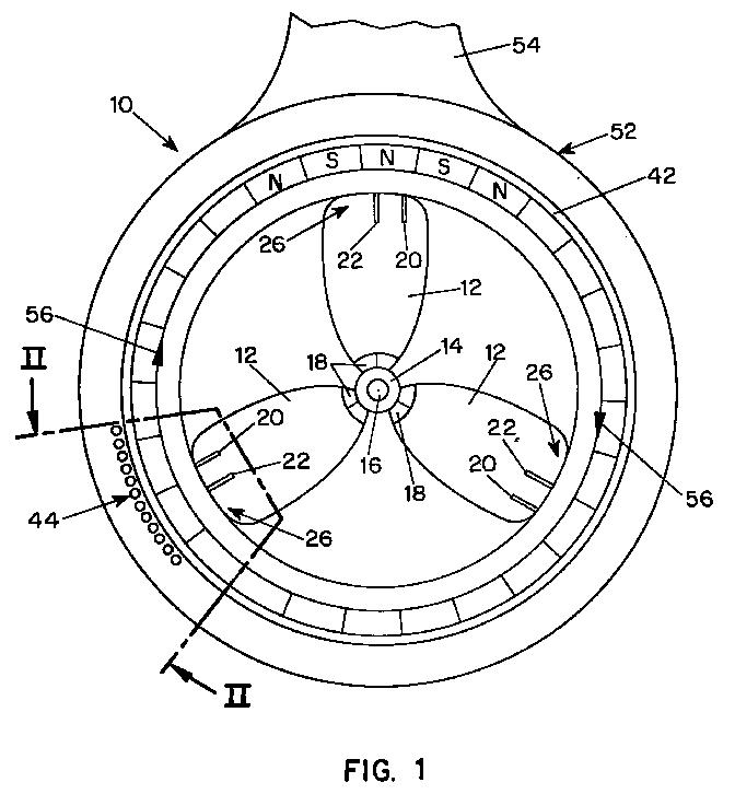 EP0928738A2 - Controllable pitch propeller arrangement