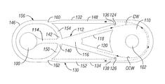 US9316065B1 - Vortex controlled variable flow resistance