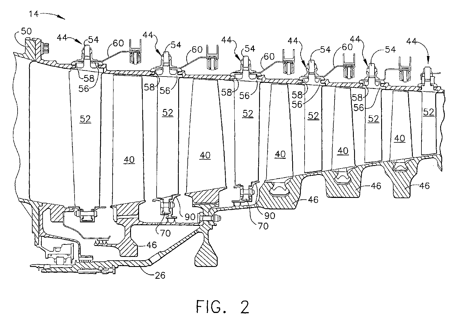 ge turbine vane motor diagram