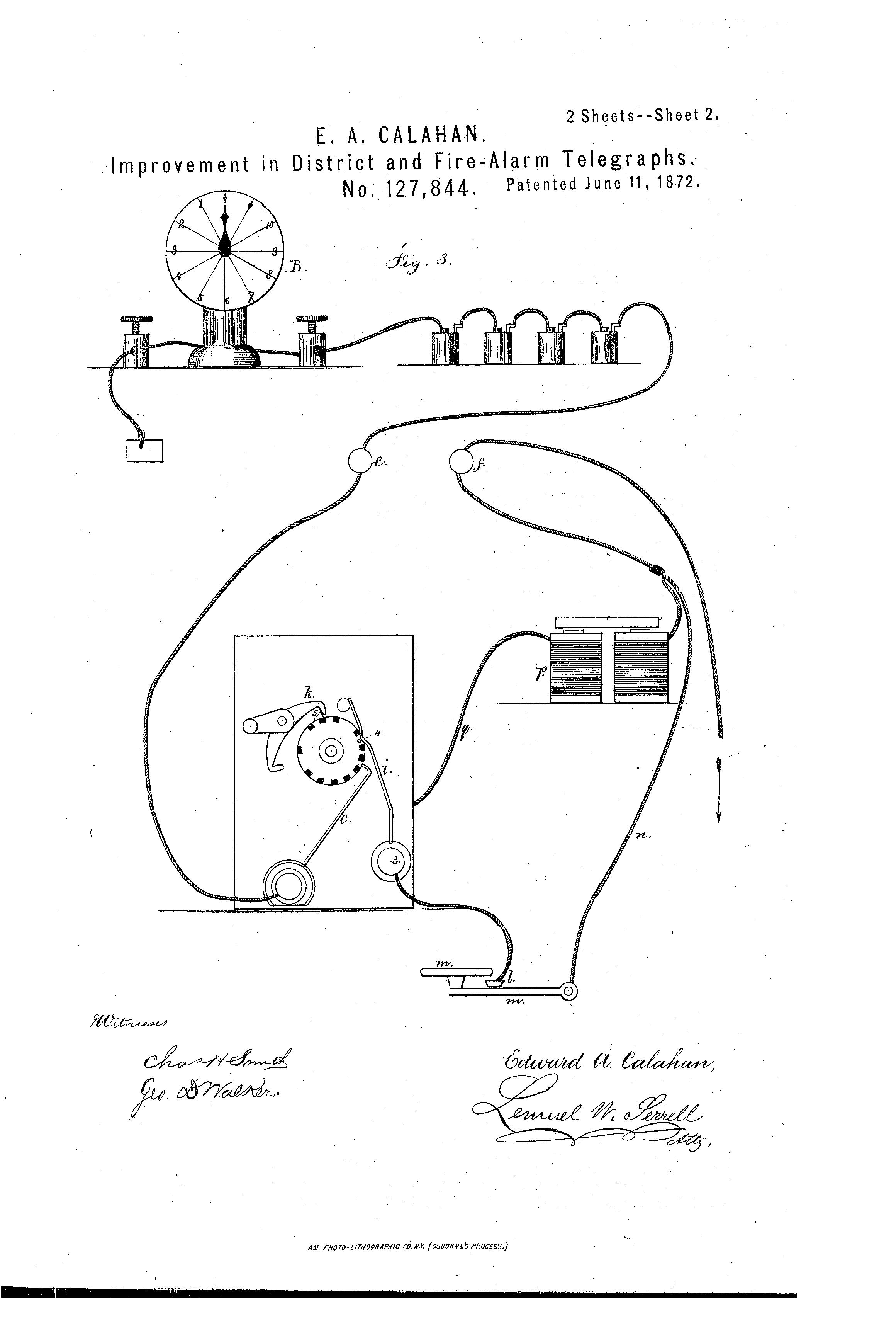 Das erste vernetzte Notrufsystem
