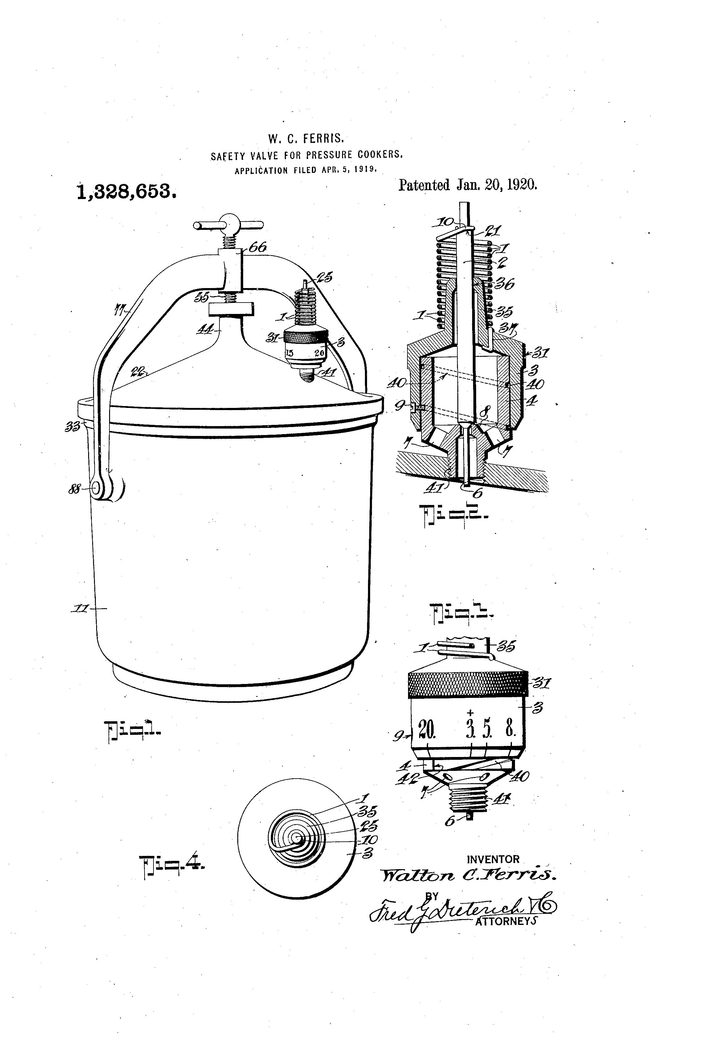 patent us1328653
