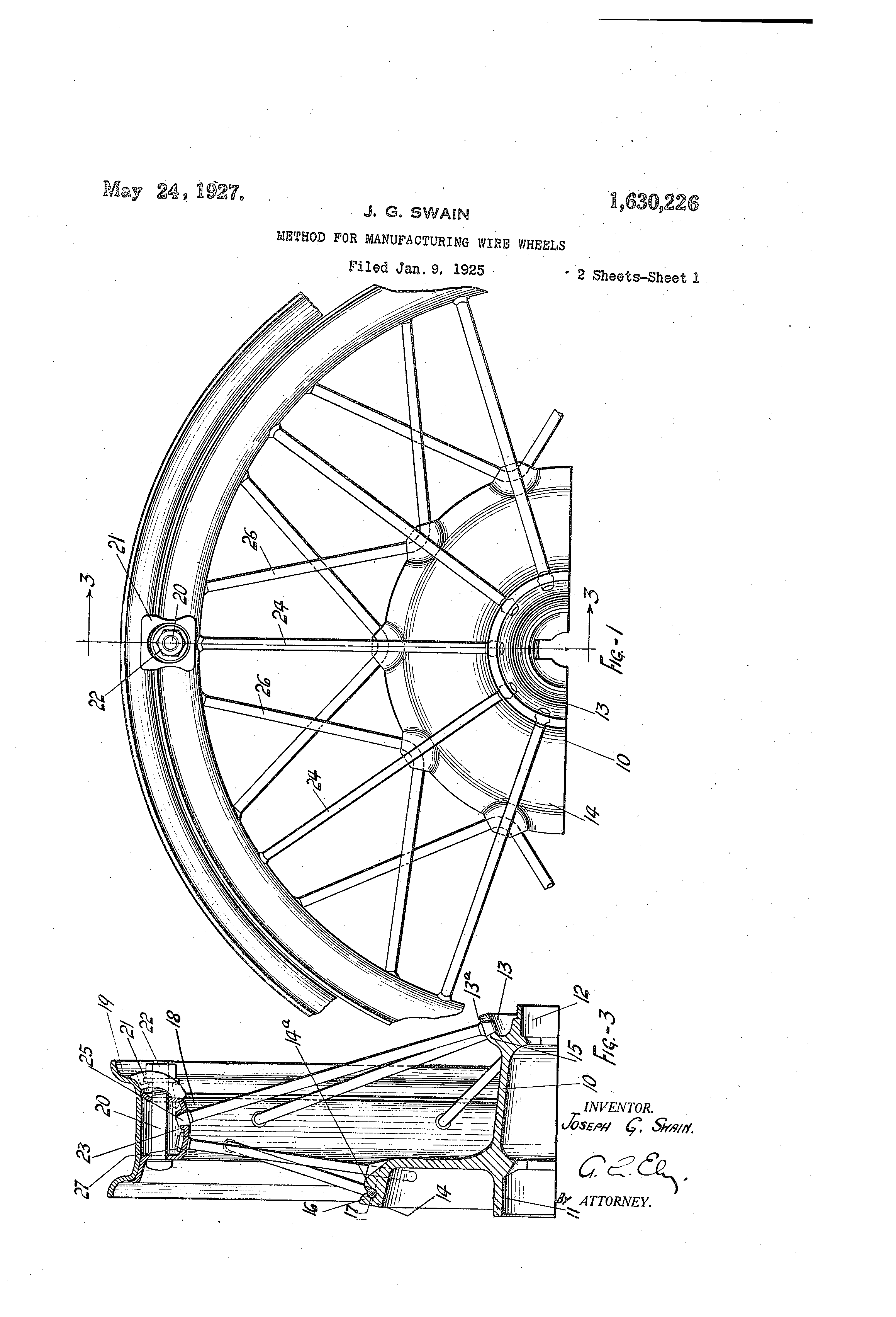 US1630226 0 patent us1630226 method for manufacturing wire wheels google Simple Electrical Wiring Diagrams at bakdesigns.co