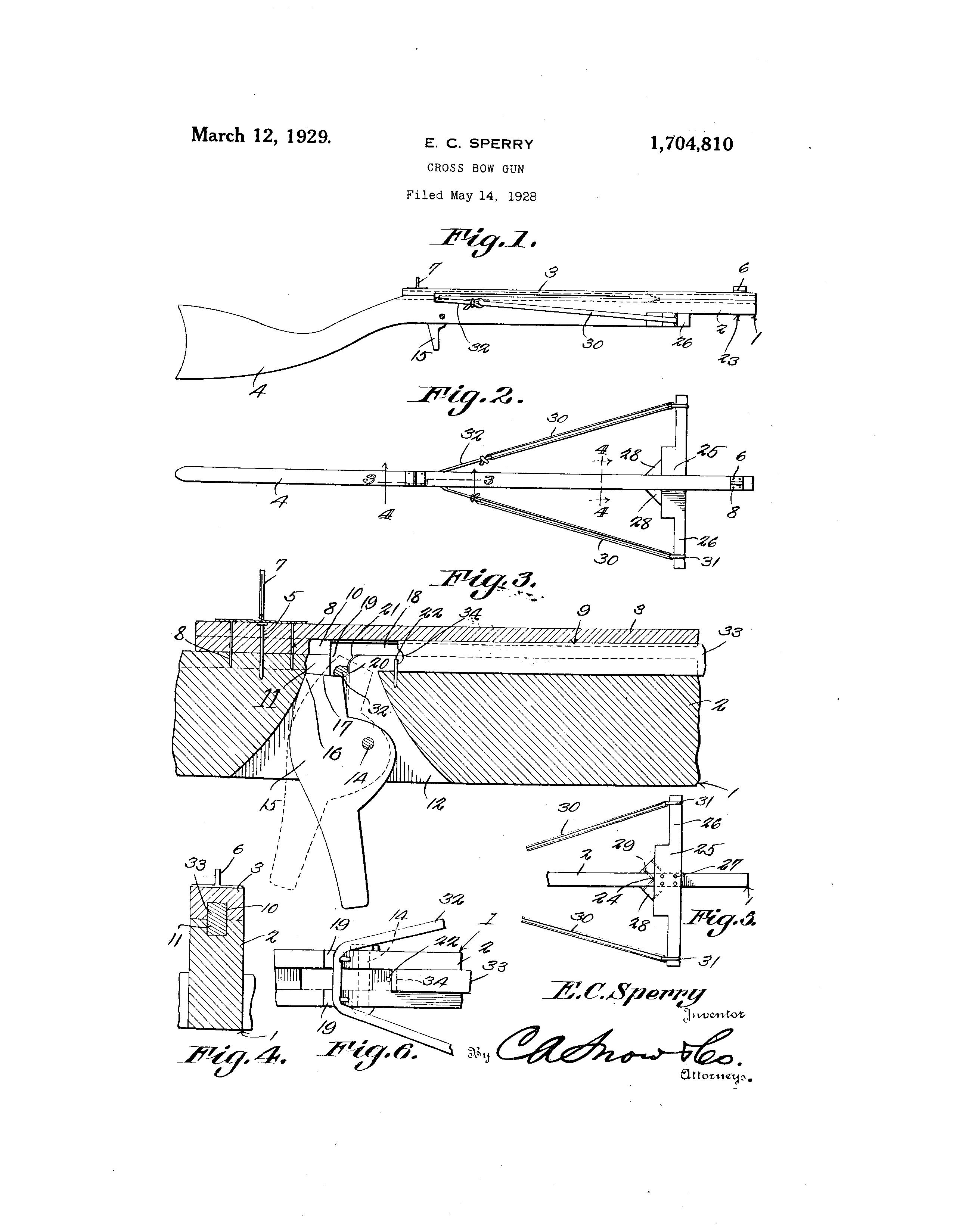 More interesting patents - Slingshot Crossbows