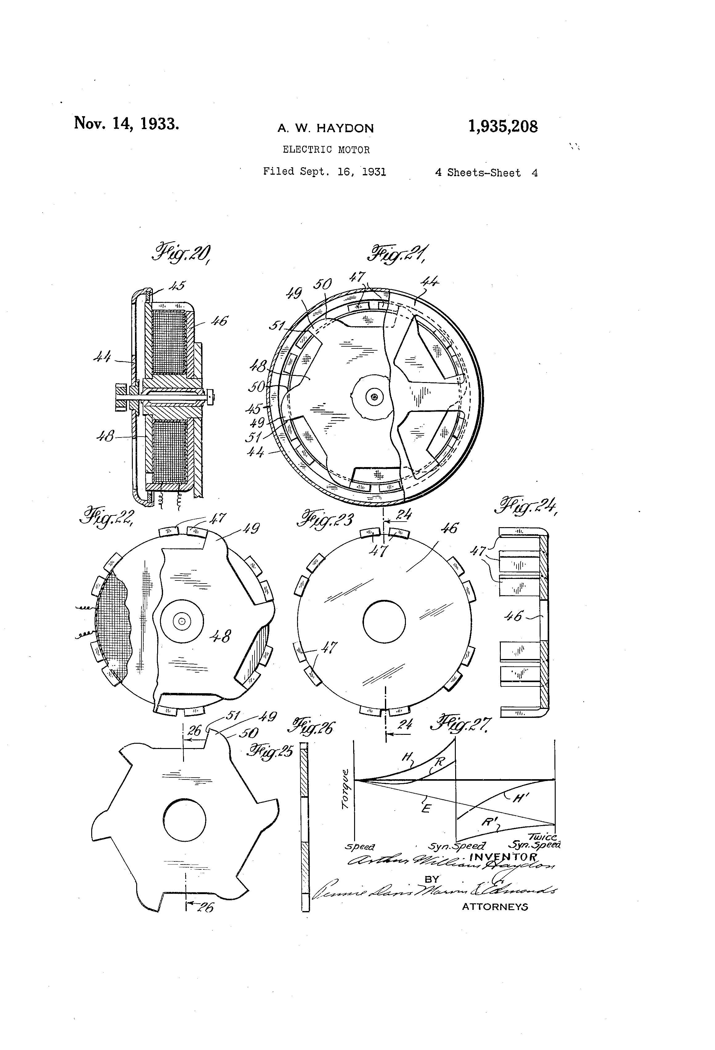 US1935208 3 patent us1935208 electric motor google patents  at fashall.co