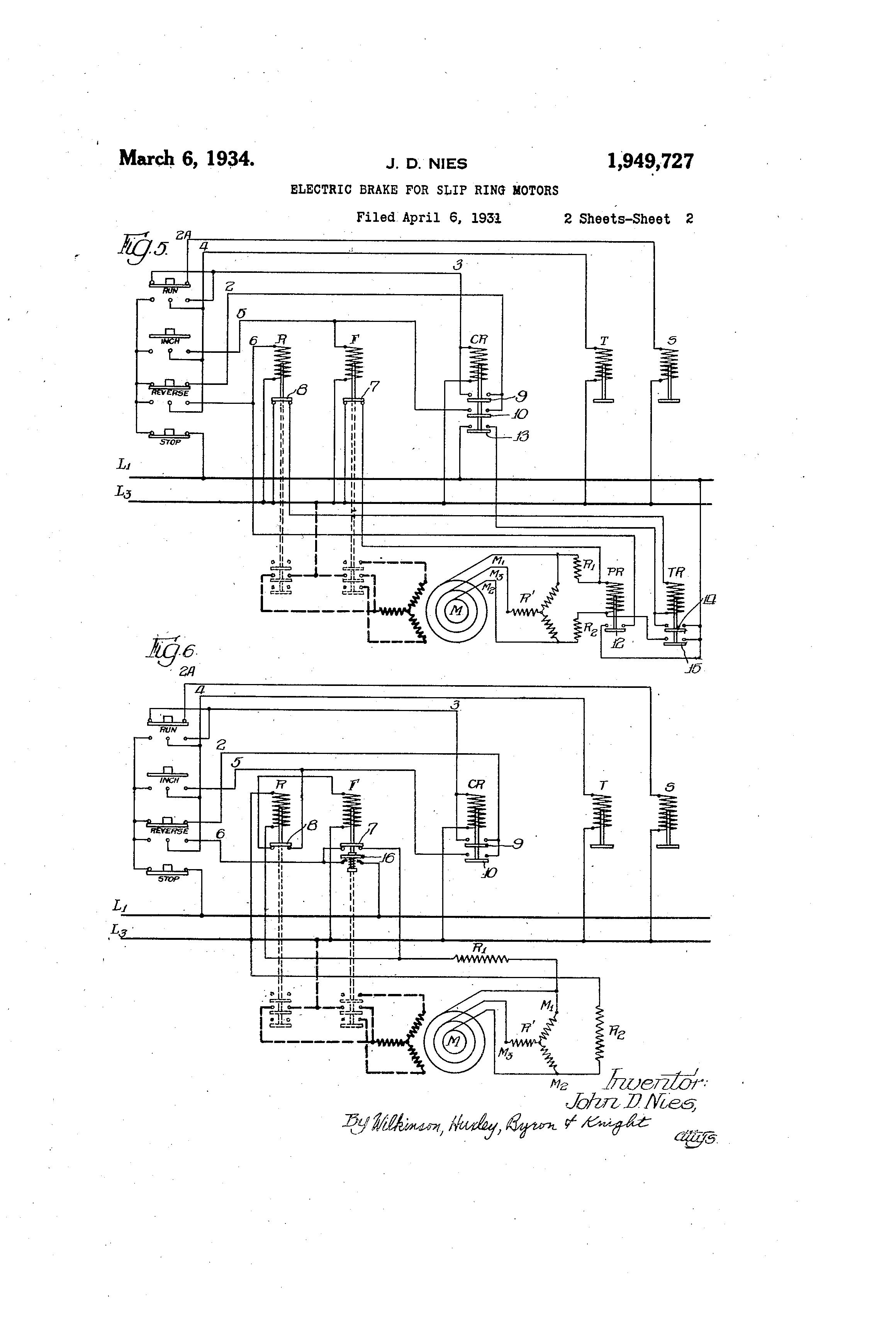 Slip Ring Motor Wiring Diagram Free Download Wiring
