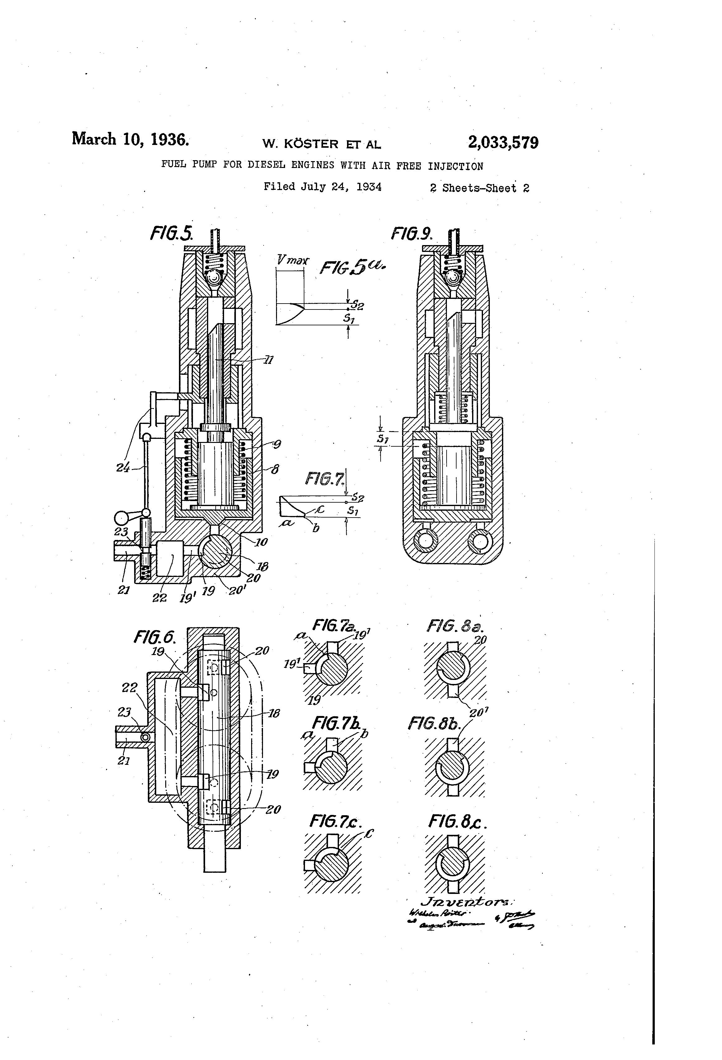 patent us2033579