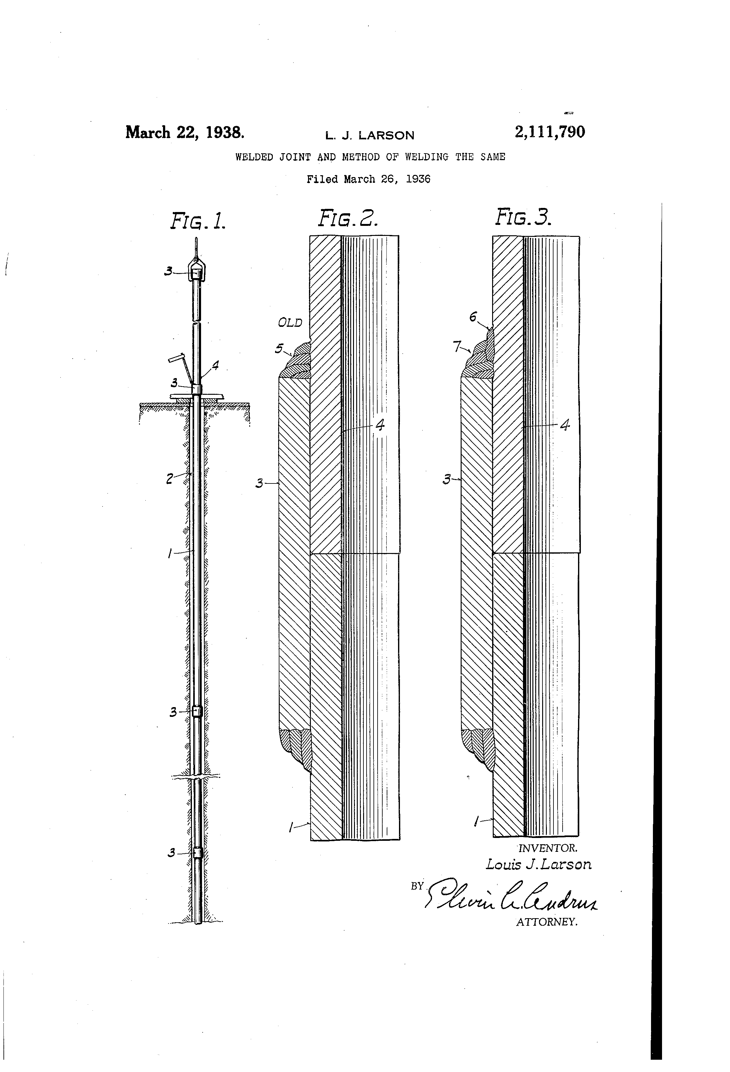 Patent Us2111790 Welded Joint And Method Of Welding The Same Diagram Drawing