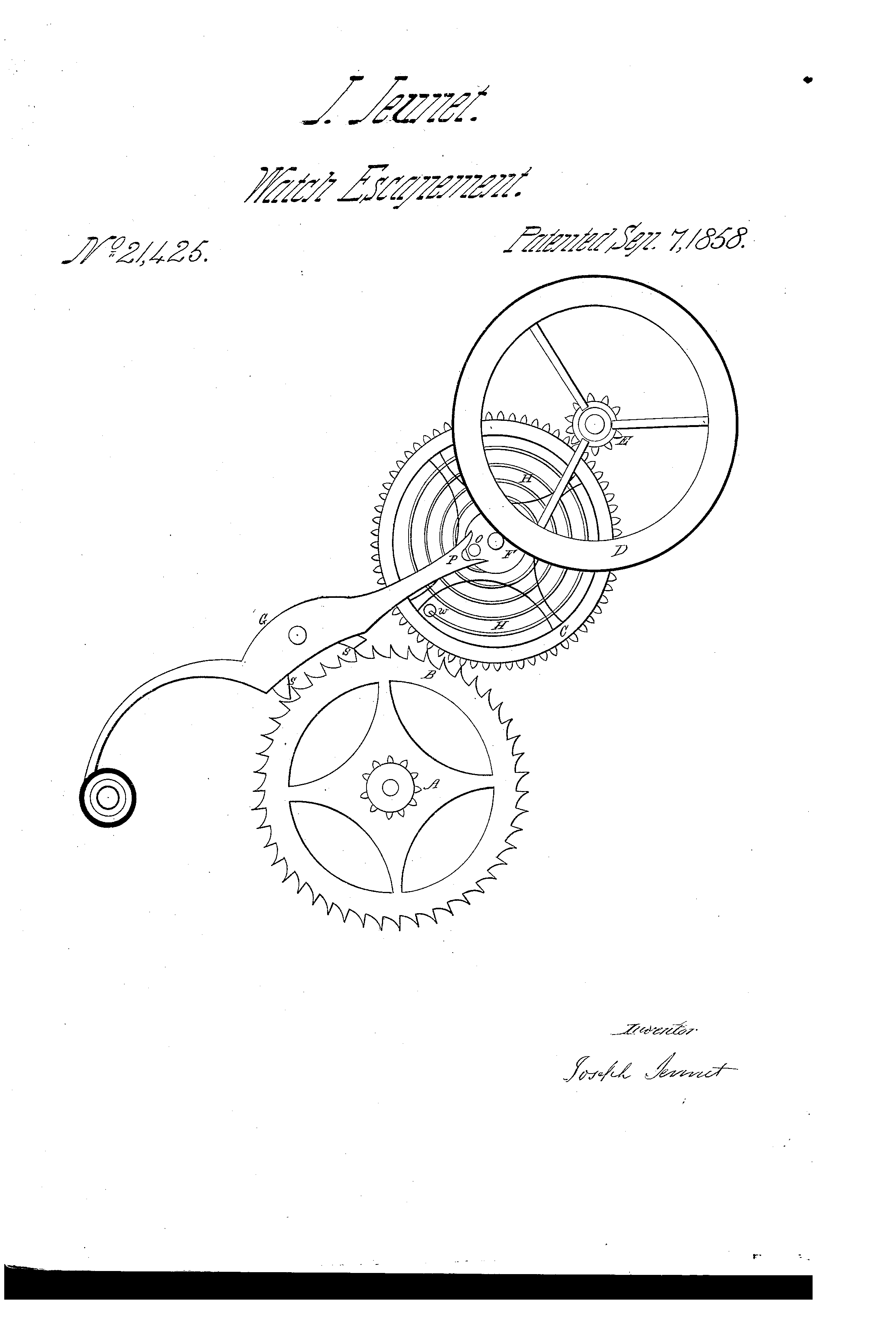 pocket watch patents archive