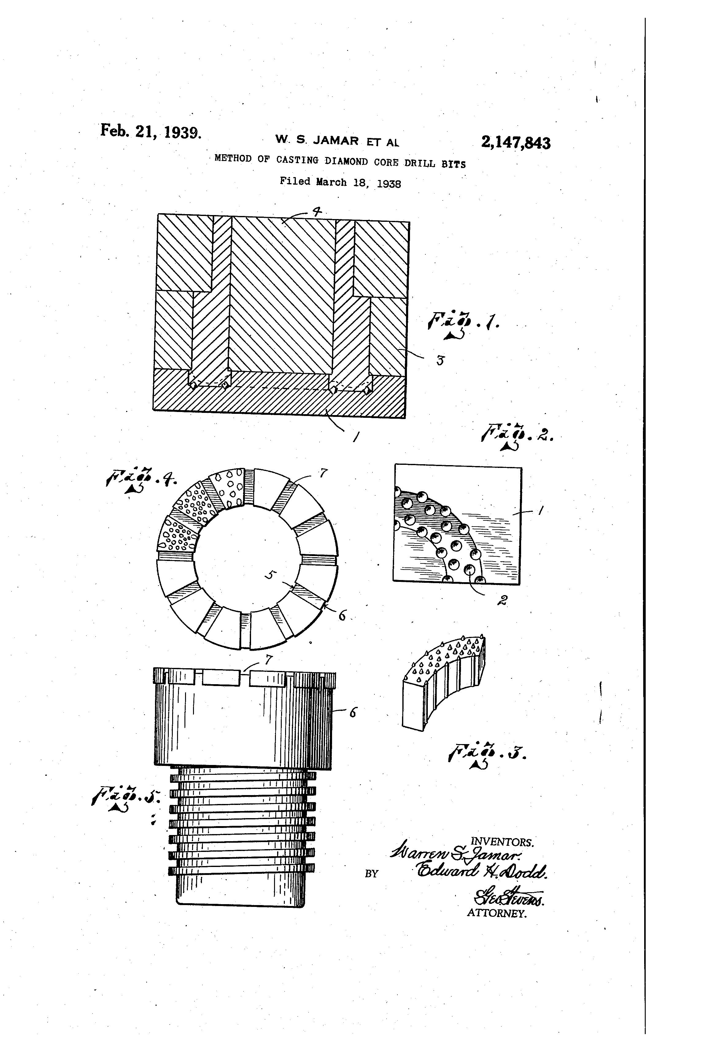 drill bit drawing. patent drawing drill bit