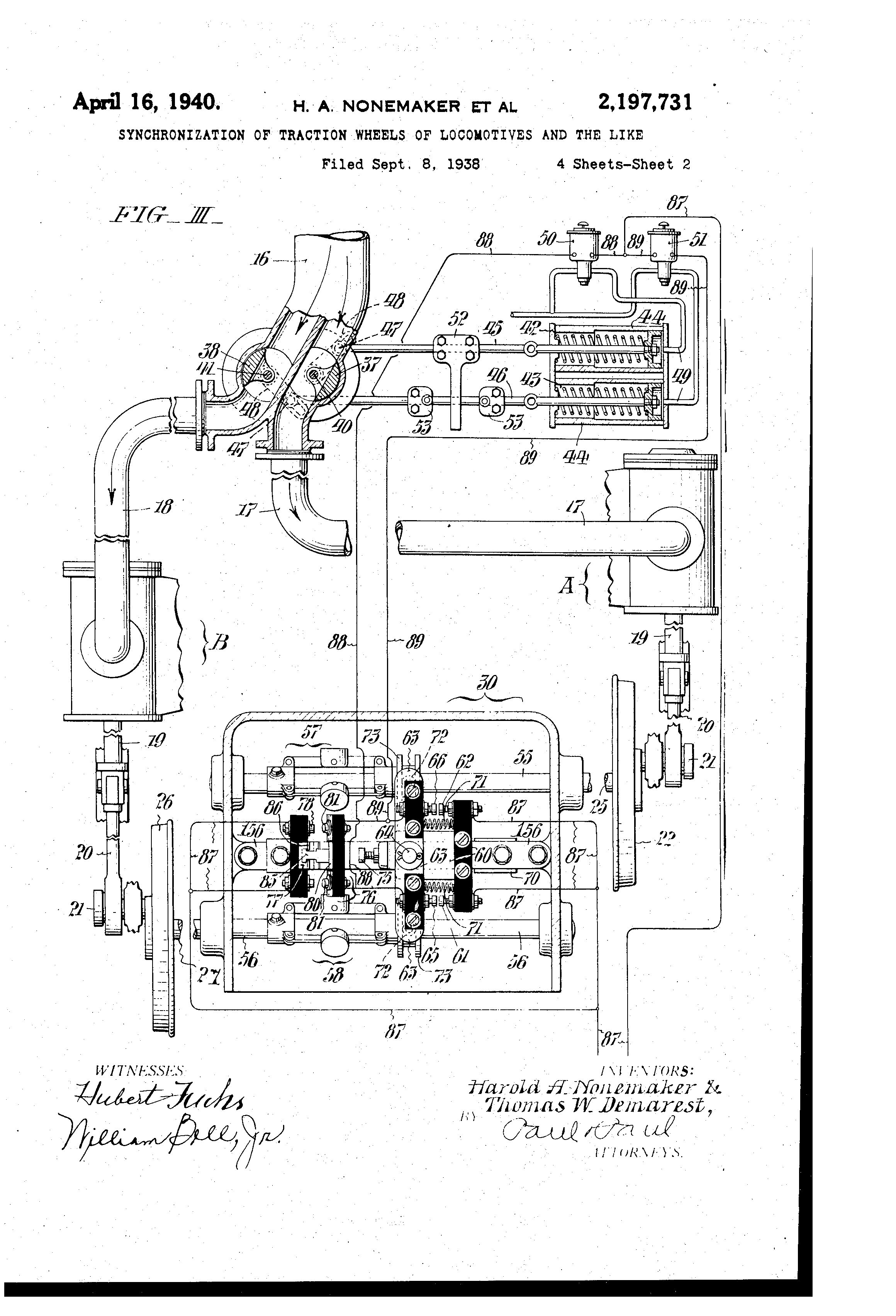 Prr Duplexes And Experimental Engines Discussion S1 S2 T1 Etc Charging Circuit Diagram For The 1940 49 Hudson All Models Inventor