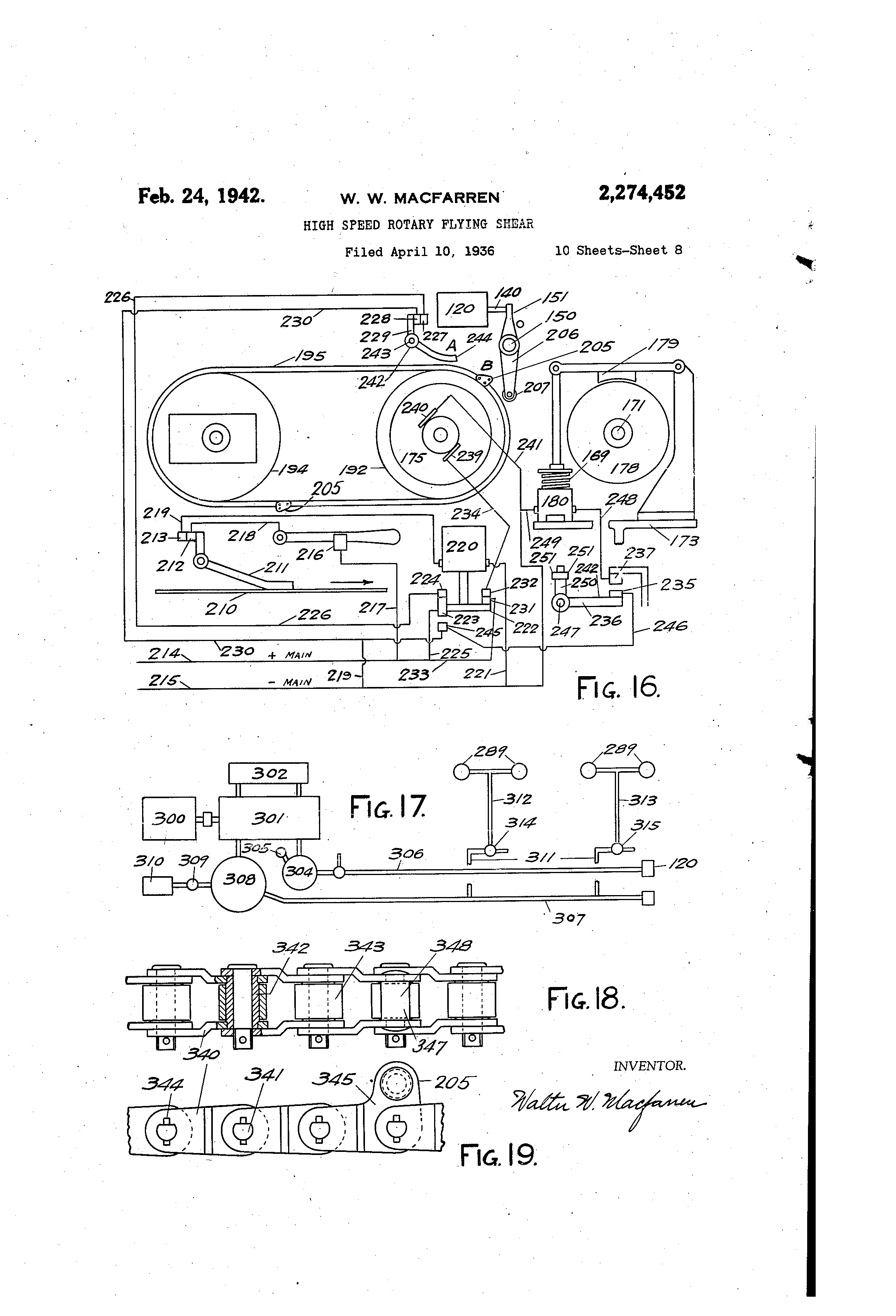 Etn roller guide shoes
