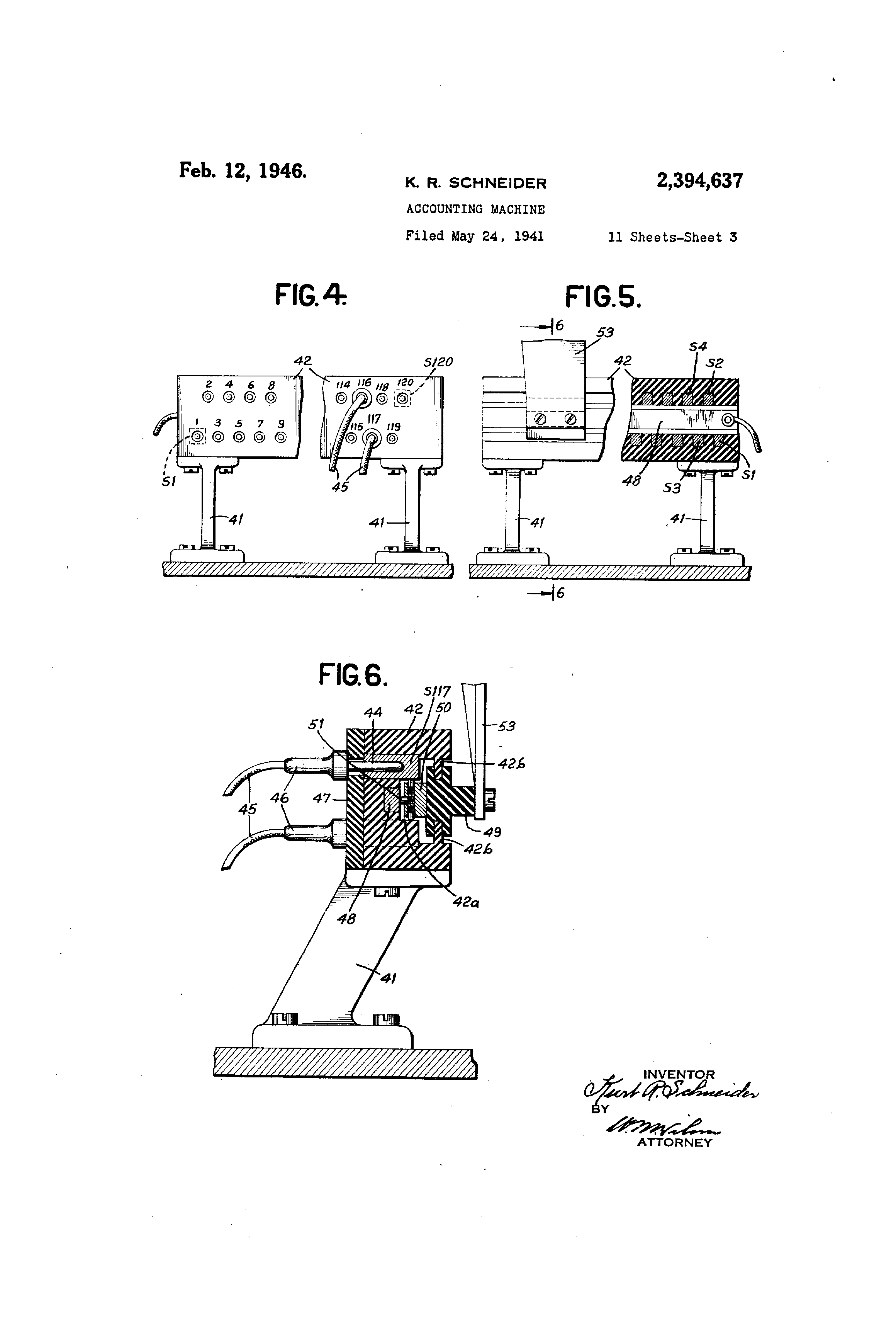 US2394637 2 patent us2394637 accounting machine google patents 855e bcb wiring diagram at gsmx.co