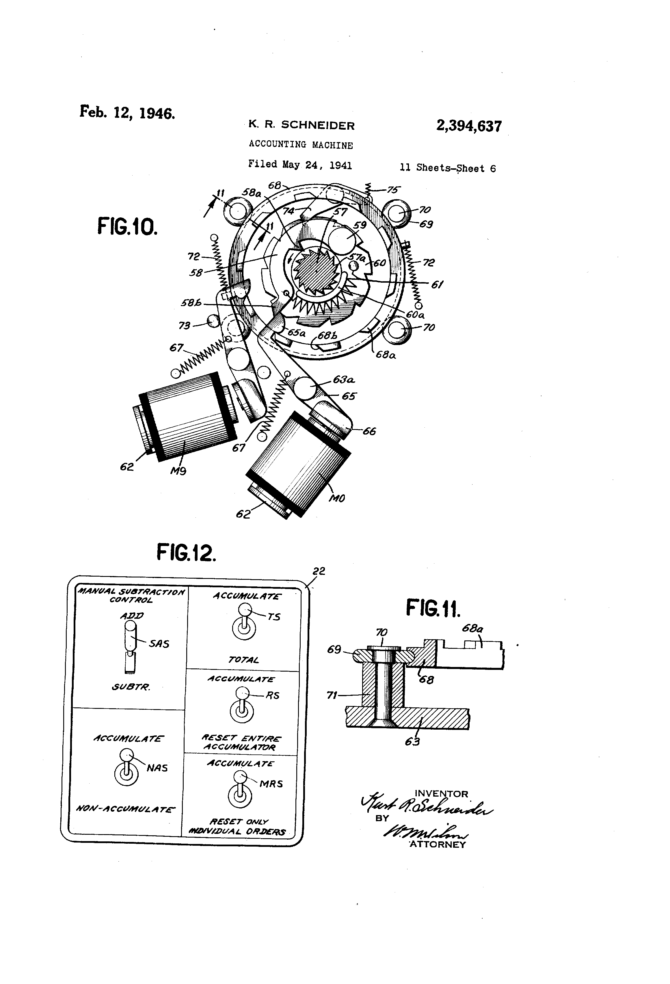 US2394637 5 patent us2394637 accounting machine google patents 855e bcb wiring diagram at webbmarketing.co