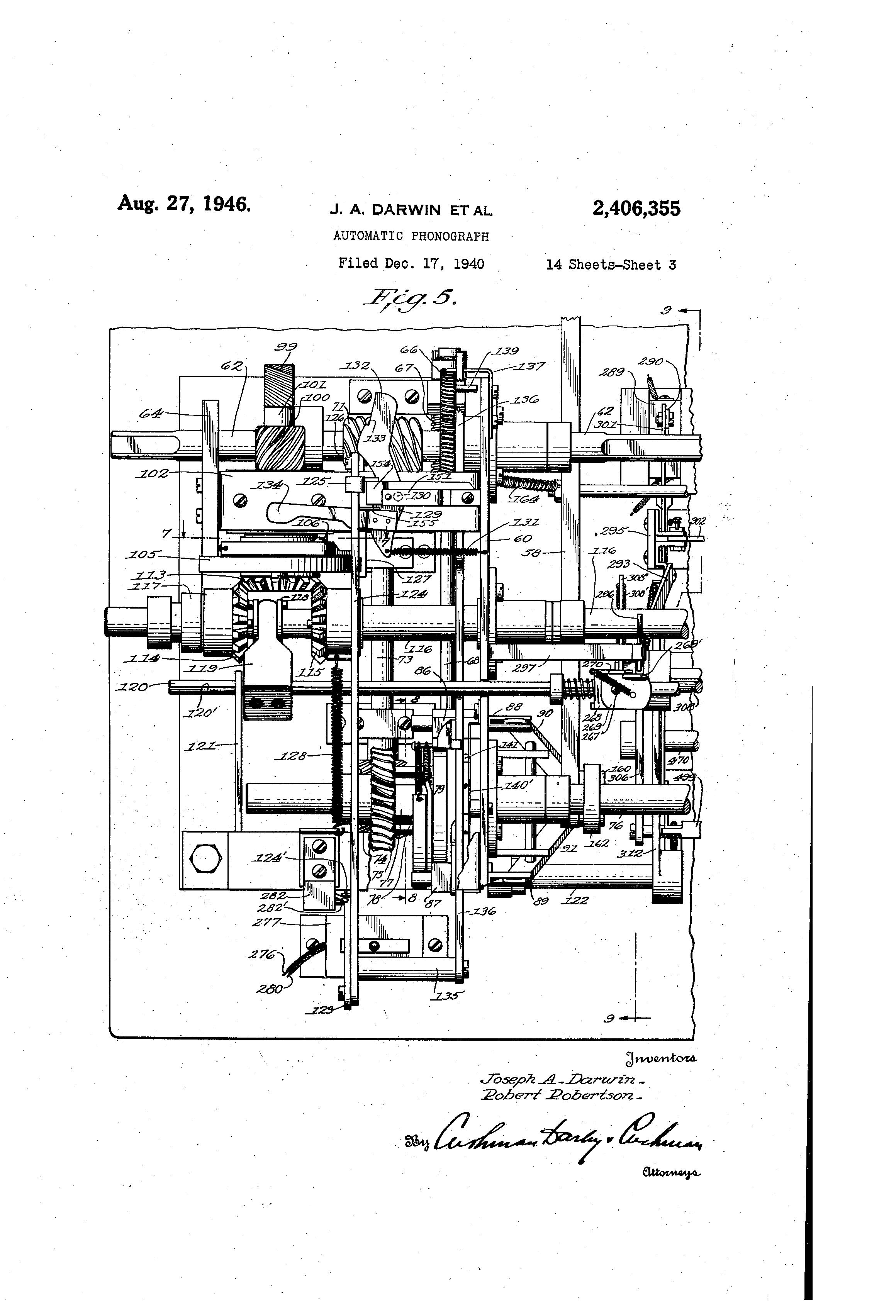 US2406355 2 patent us2406355 automatic phonograph google patents hub2b wiring diagram at soozxer.org