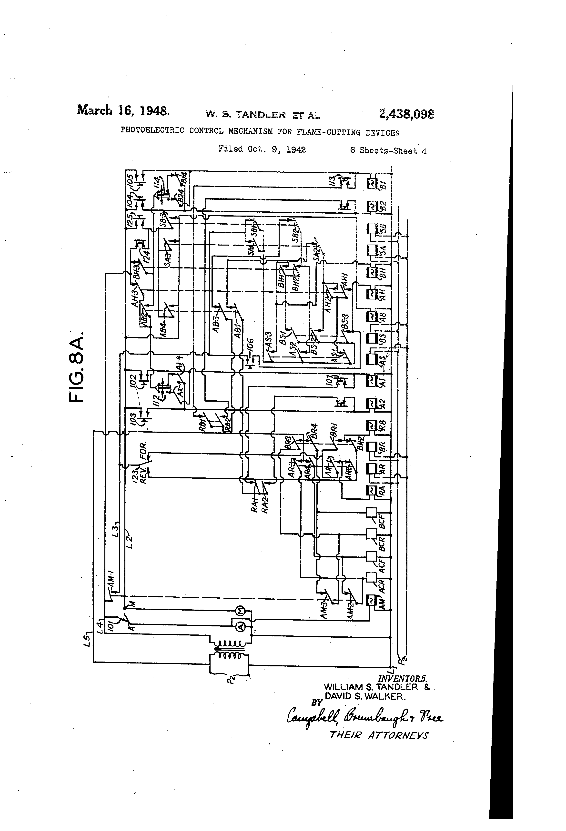 Toro workman wiring diagram on patent us2438098 photoelectric control mechanism for flame Toro Mower Wiring Diagram Toro Lawn Mower Schematic