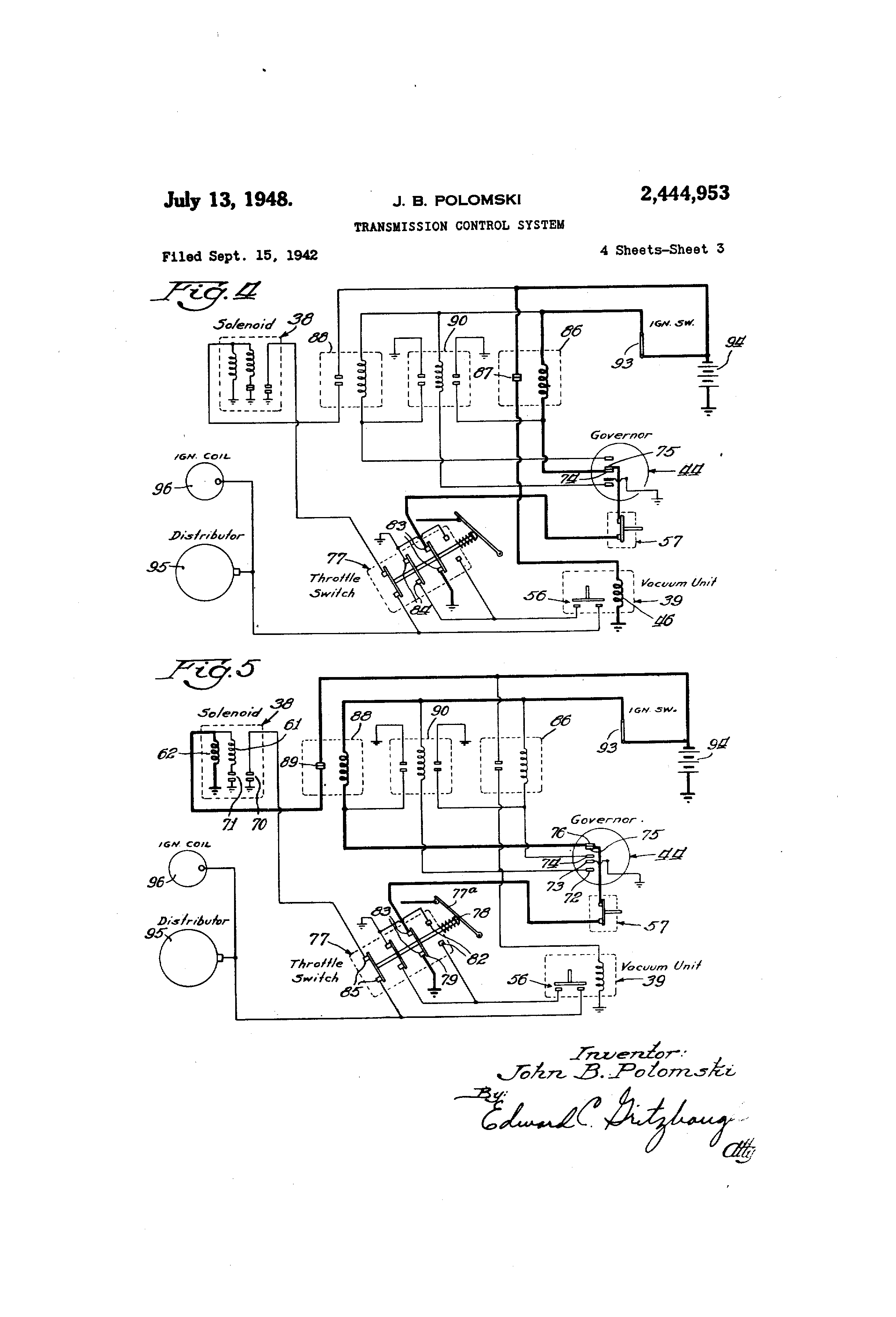 1948 Packard Wiring Diagram Diagrams Charging Circuit For The 1955 Super 1946 Clipper 46