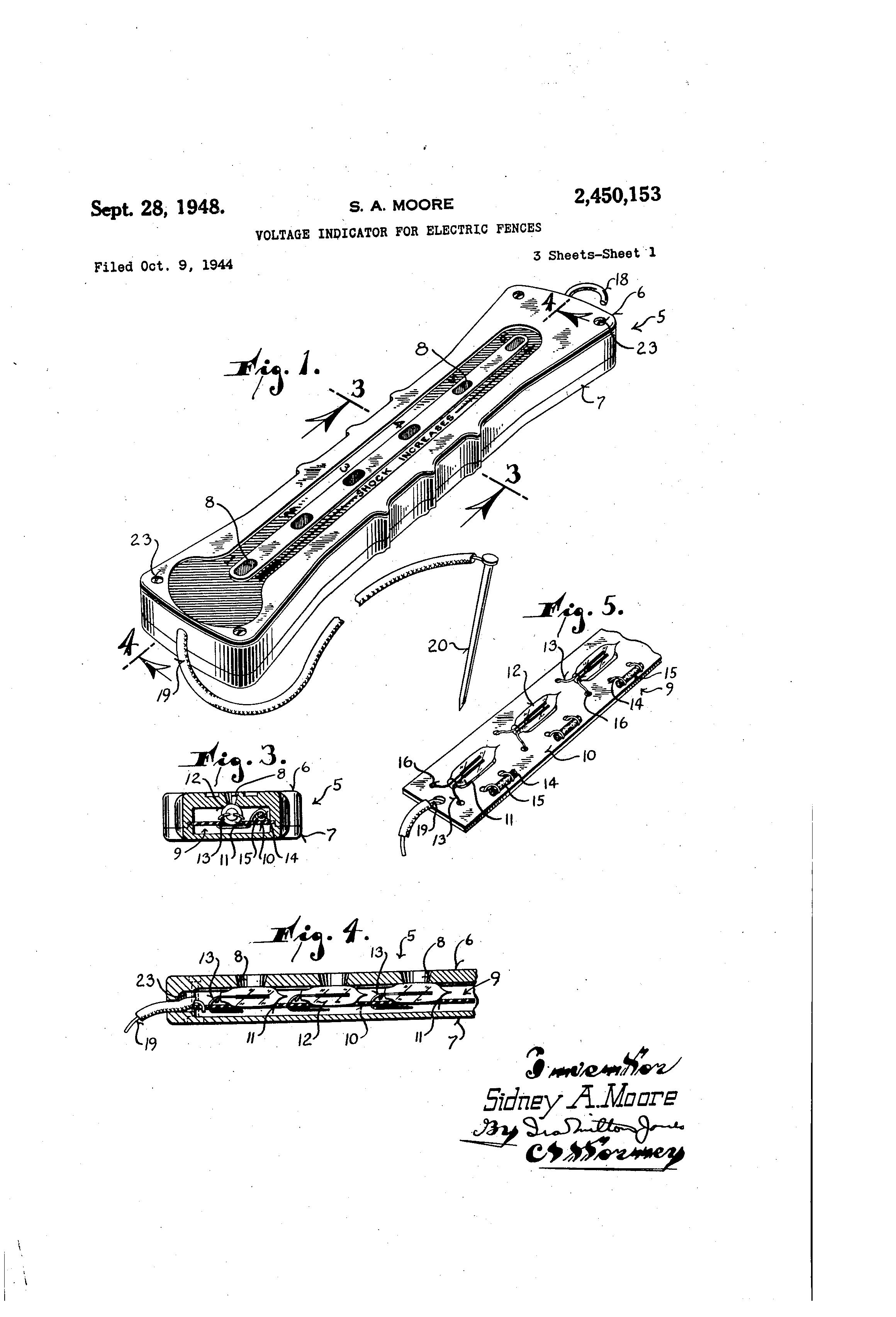 patent us2450153