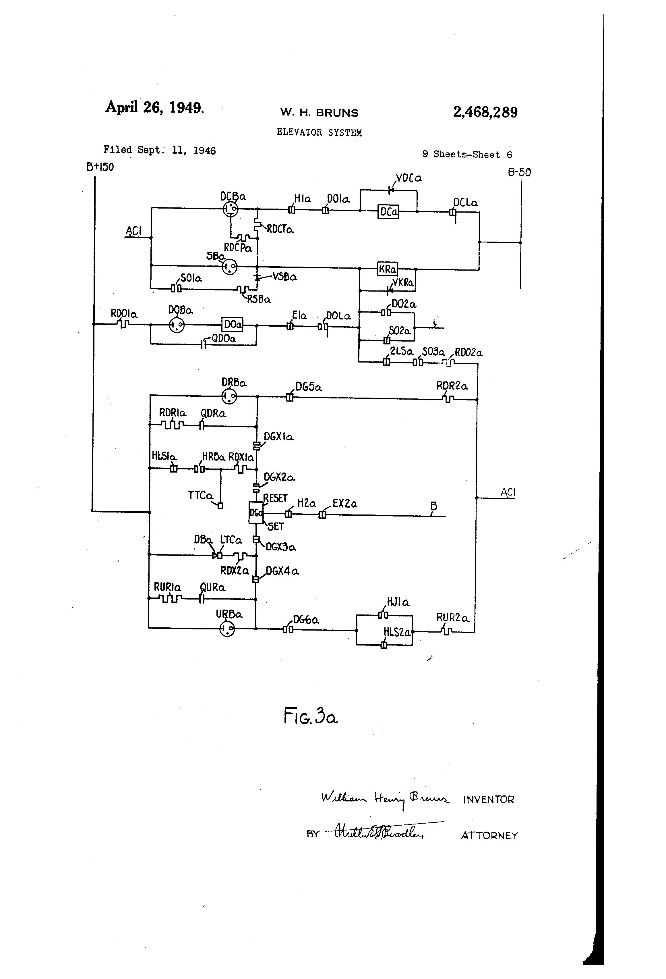 patent us2468289 elevator system google patents patent drawing