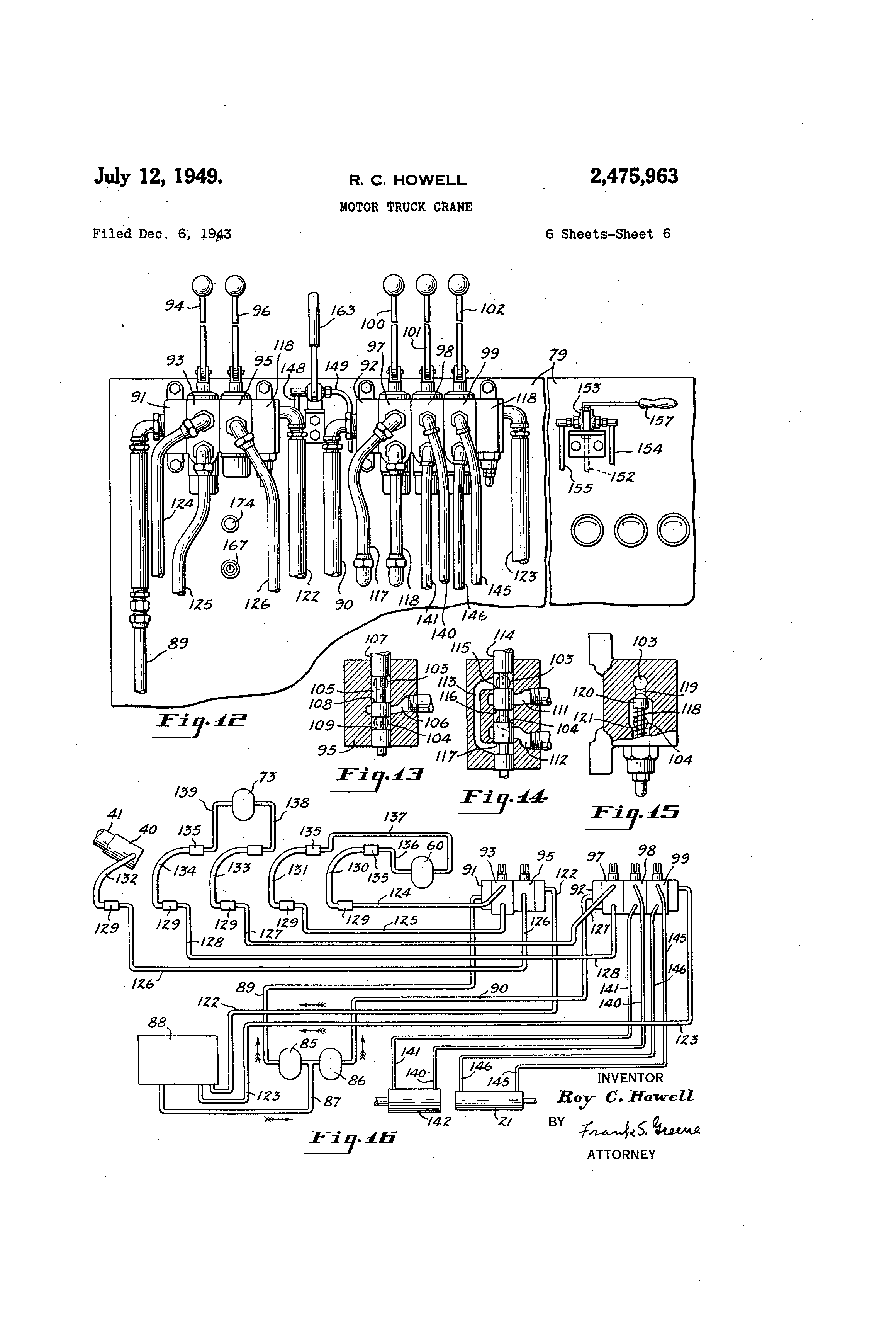 US2475963 5 patent us2475963 motor truck crane google patents demag crane wiring diagram at reclaimingppi.co