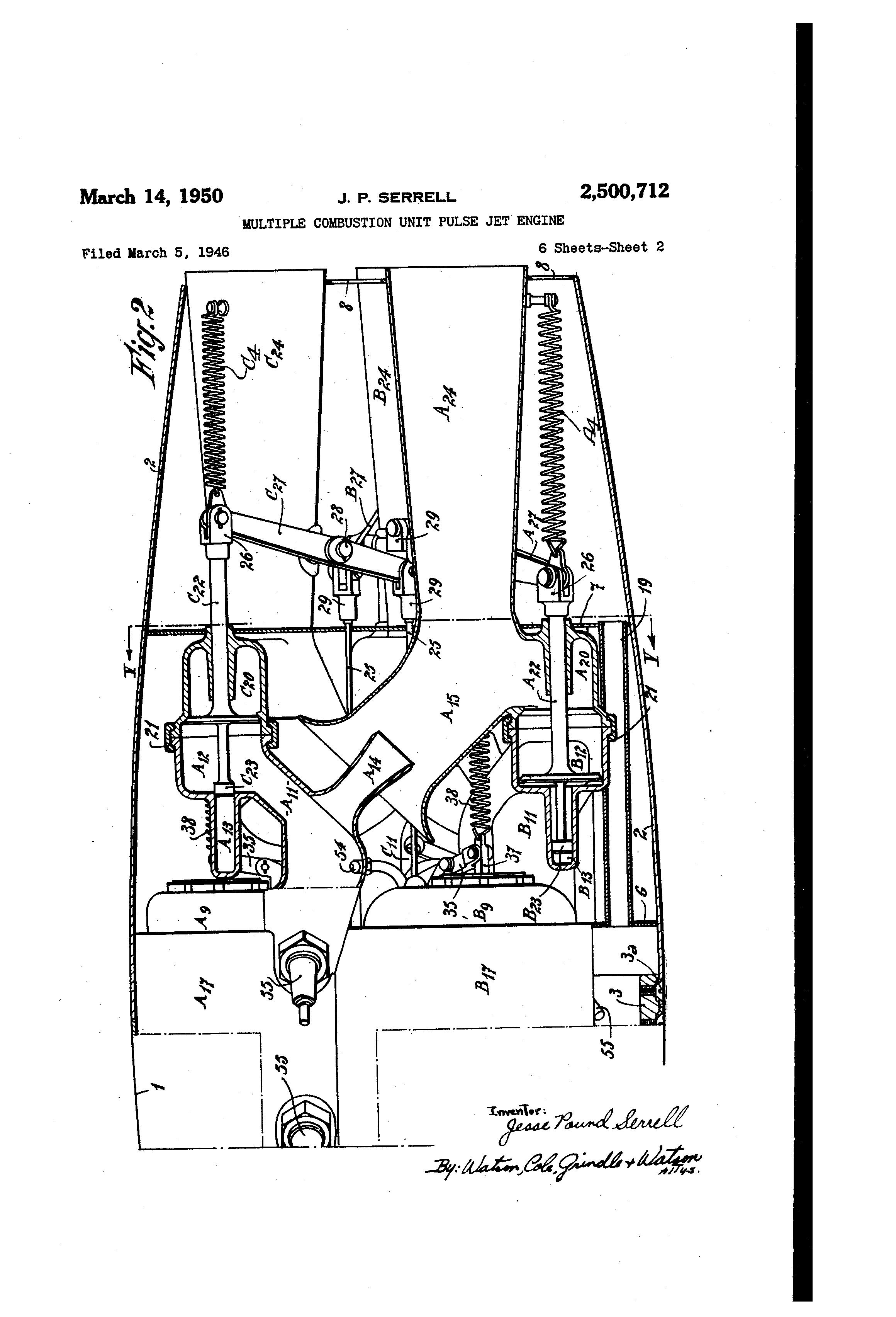 patent us2500712