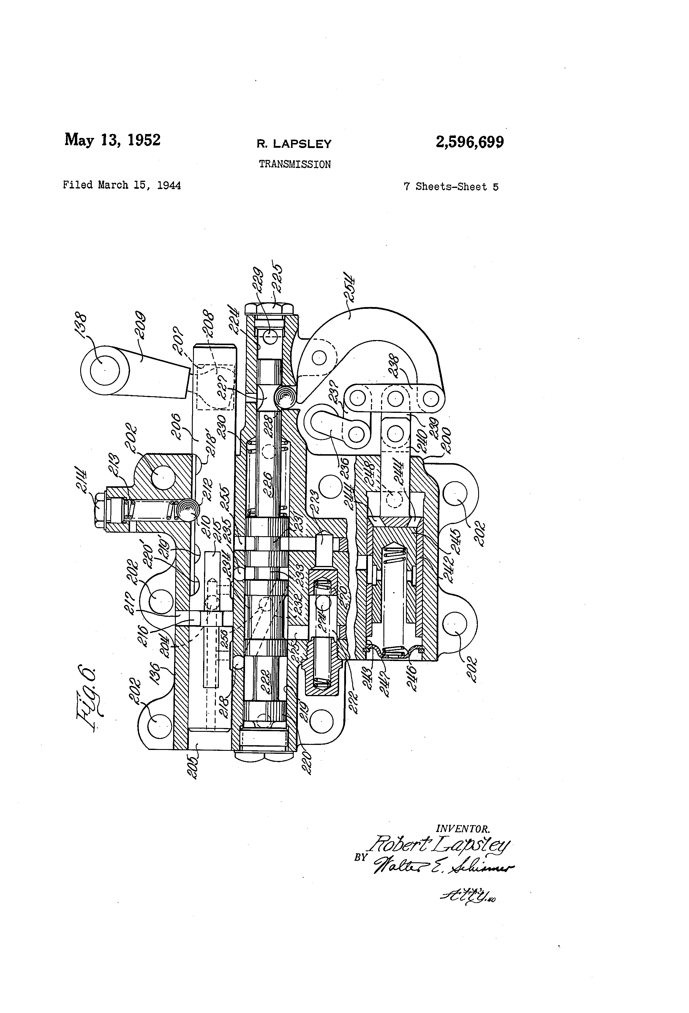 Us2596699 Transmission Google The Hydraulic Pressure Control Circuit Controlcircuit Patent Drawing