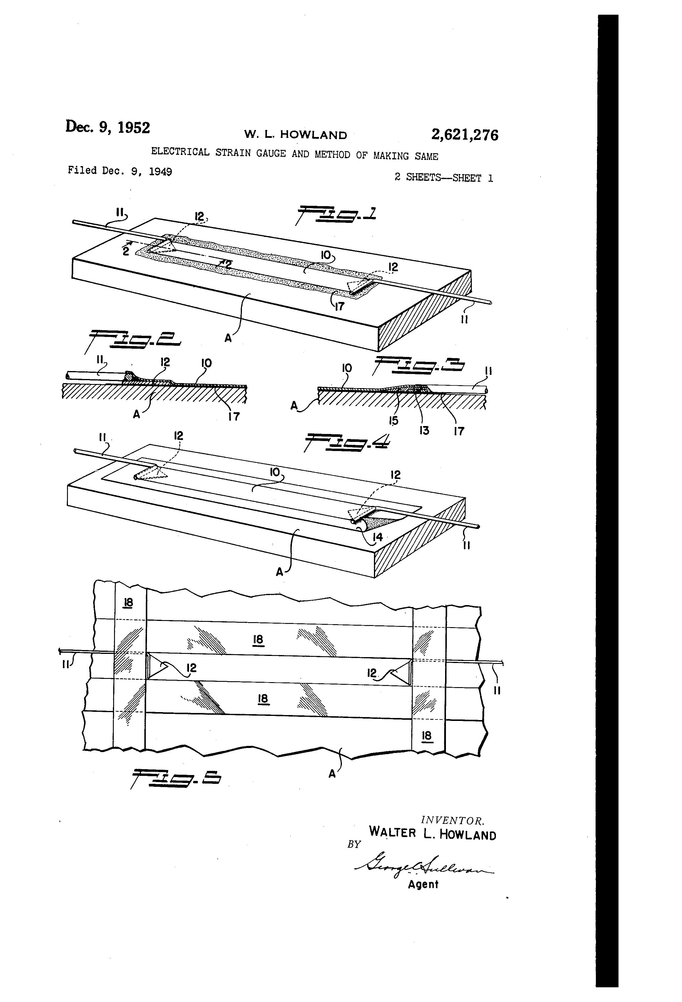 patent us2621276