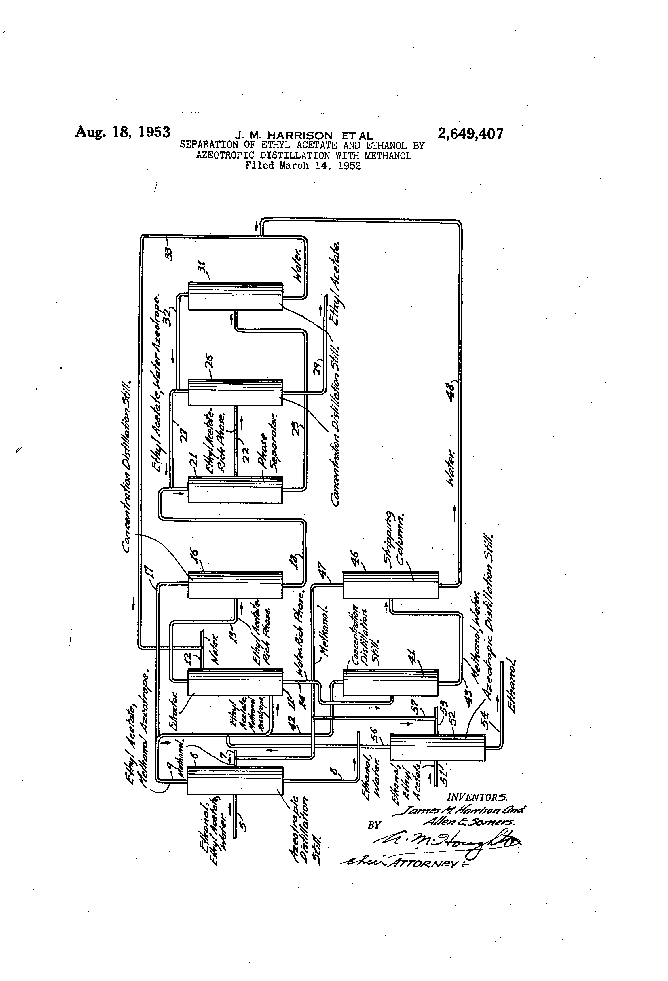 patent us2649407