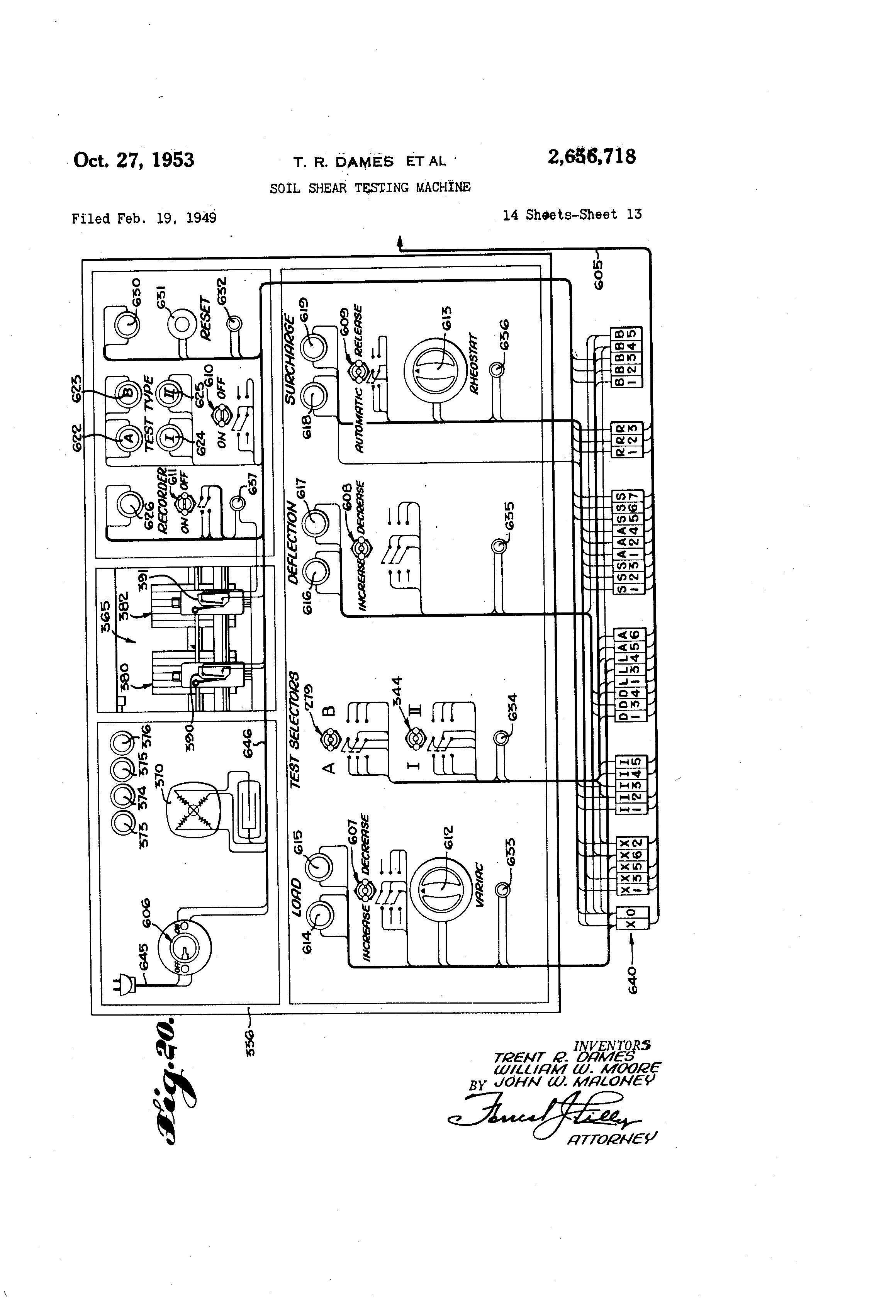 US2656718 12 patent us2656718 soil shear testing machine google patents hub2b wiring diagram at soozxer.org