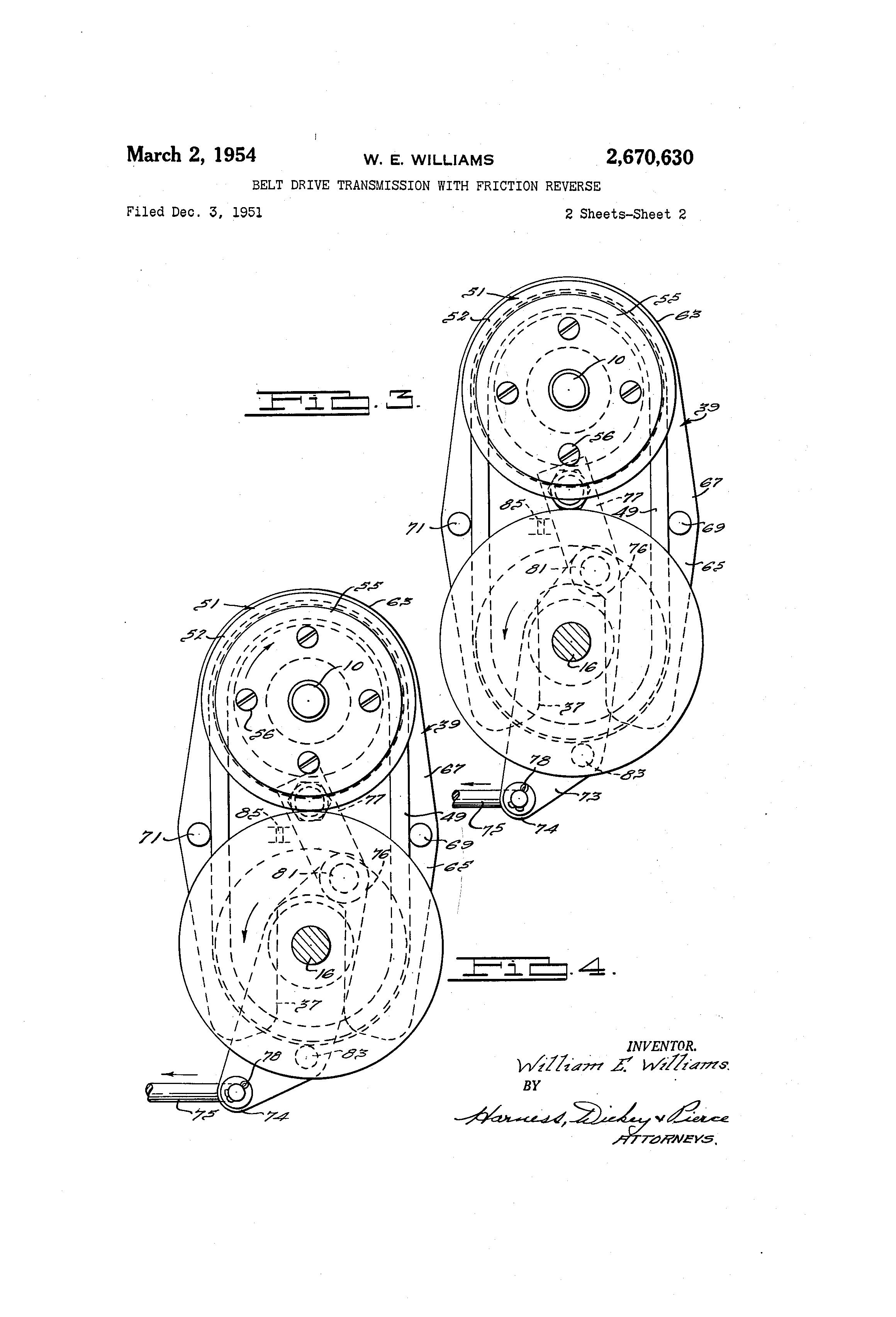 patent us2670630
