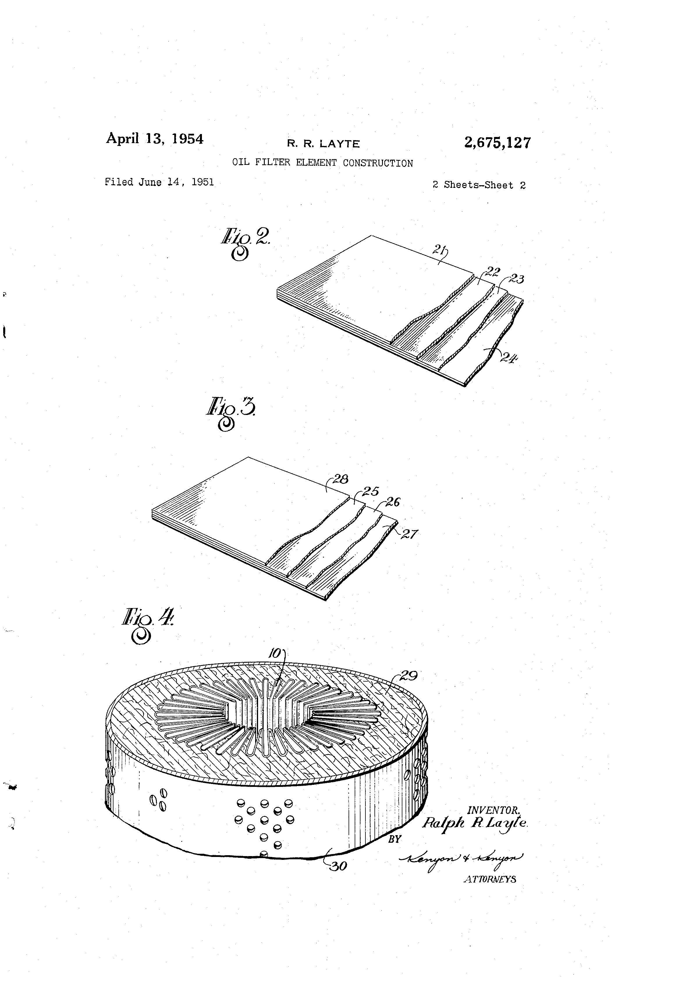 patent us2675127