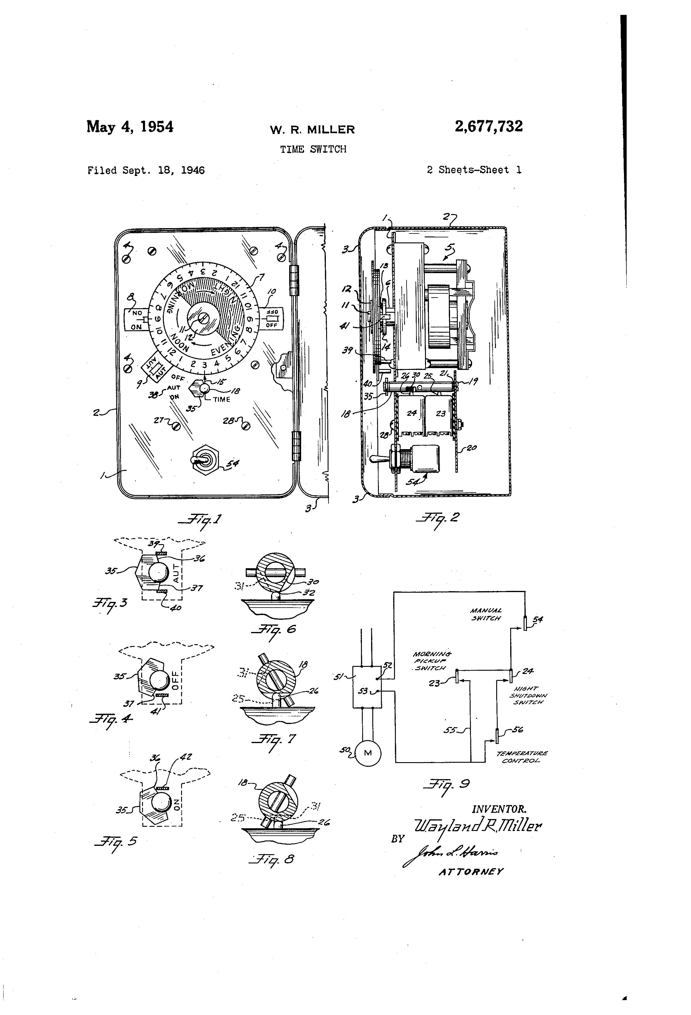US2677732 0 sangamo time clock wiring diagram wiring diagram and schematic sangamo time clock wiring diagram at cos-gaming.co
