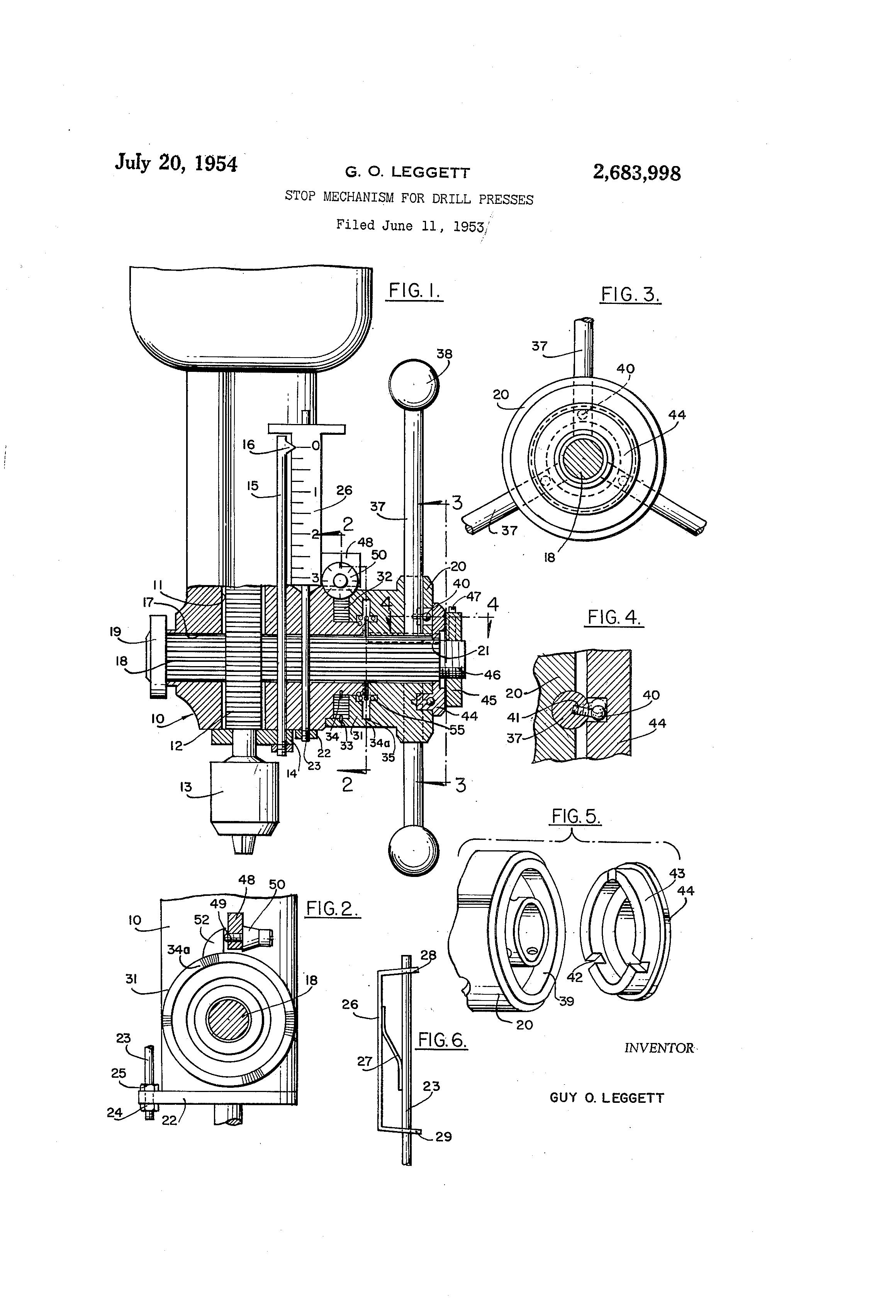 patent us2683998
