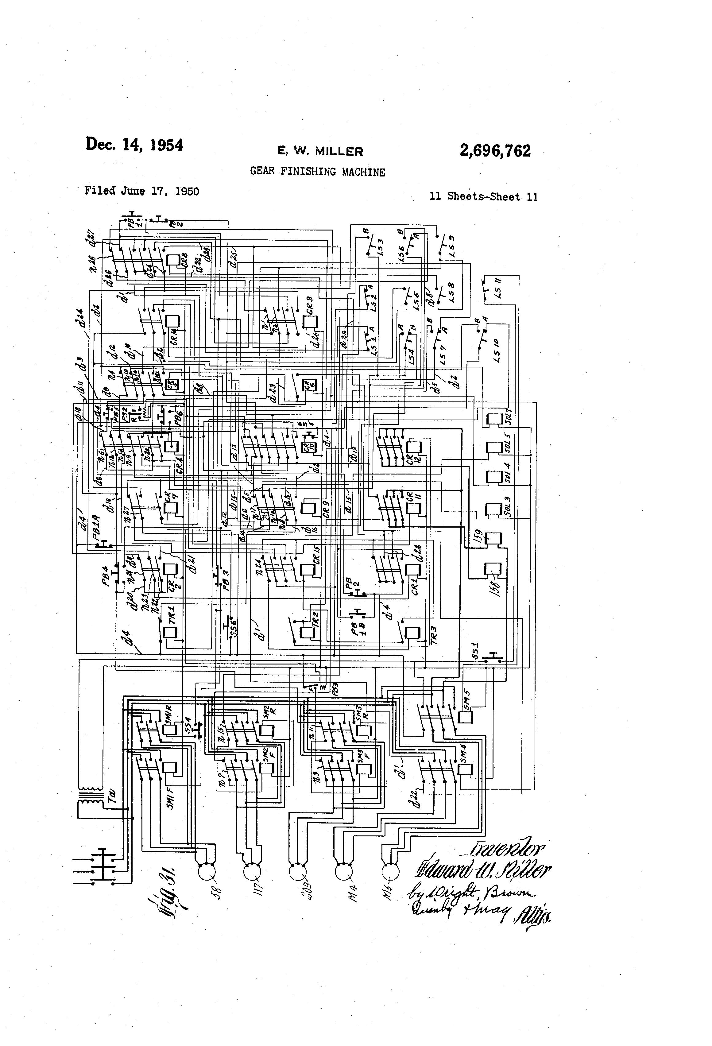 Patent US Gear Finishing Machine Google Patents - Honda ls 125 wiring diagram